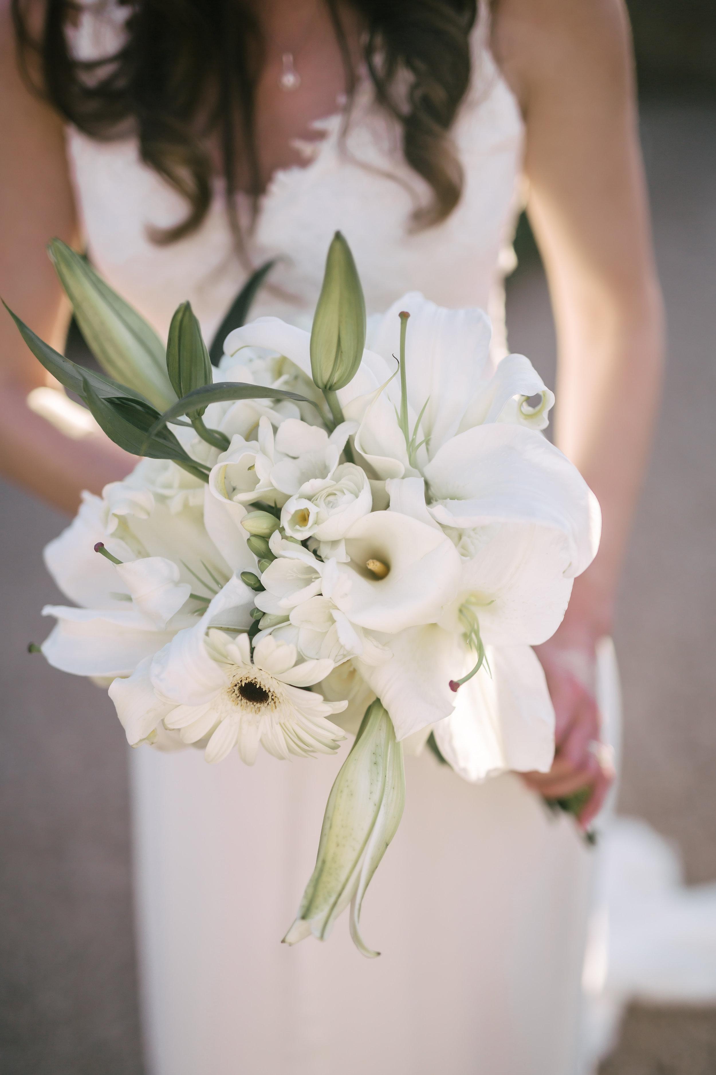 www.santabarbarawedding.com | Rewind Photography | Provence in Ojai | Passion Flowers | Bridal Bouquet
