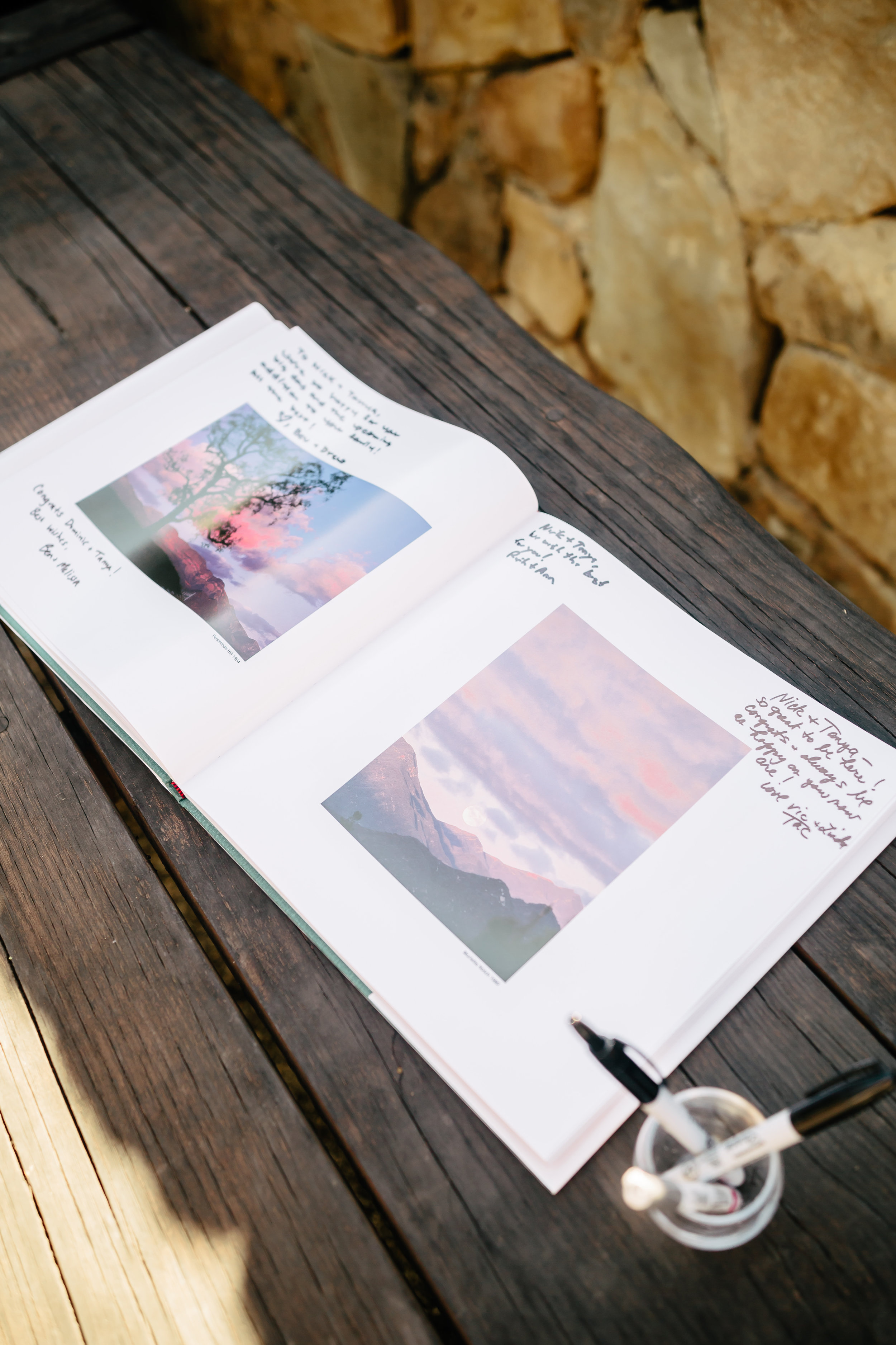 www.santabarbarawedding.com | Rewind Photography | Provence in Ojai | Guest Book | Reception