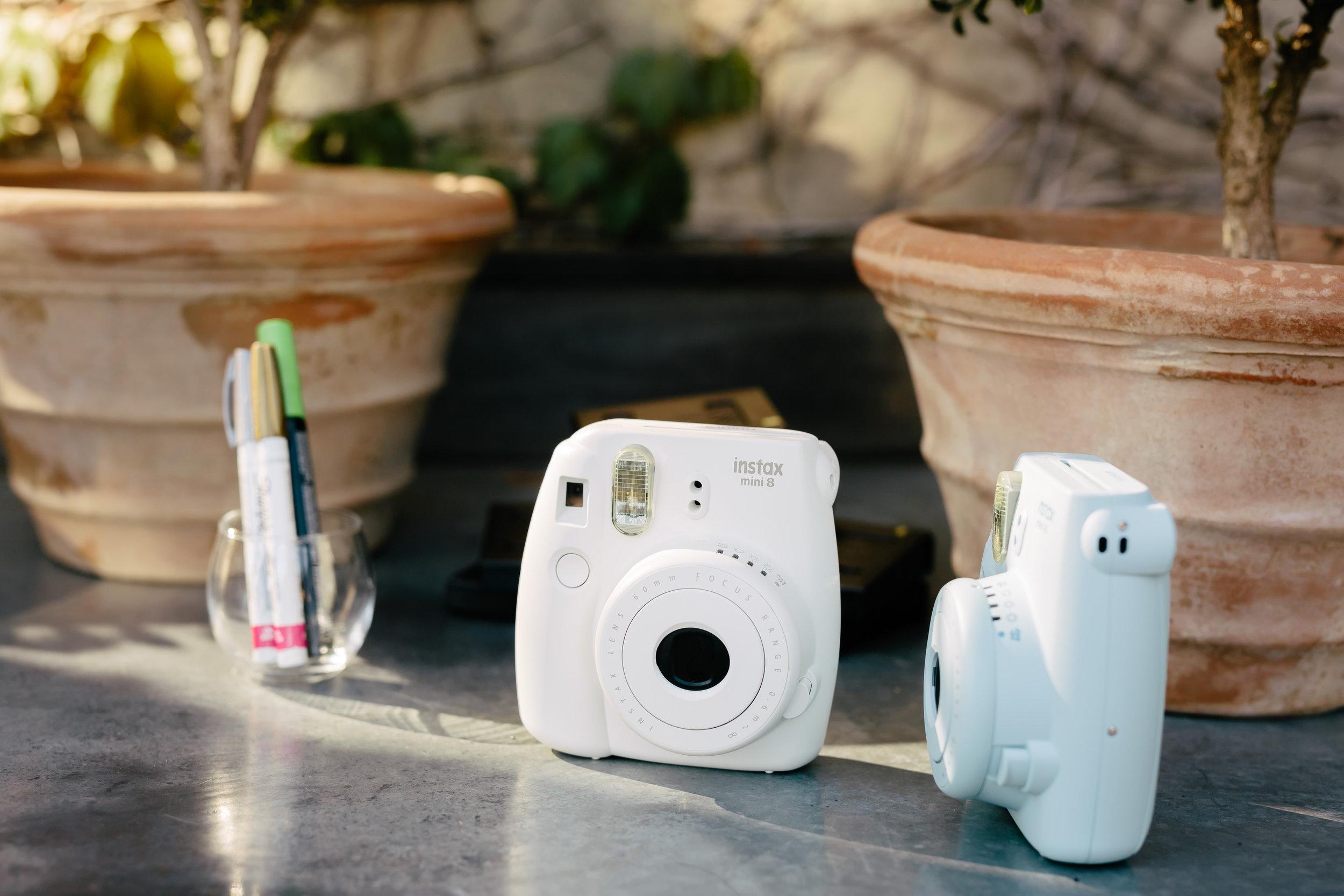 www.santabarbarawedding.com | Rewind Photography | Provence in Ojai | Polaroid Camera | Reception