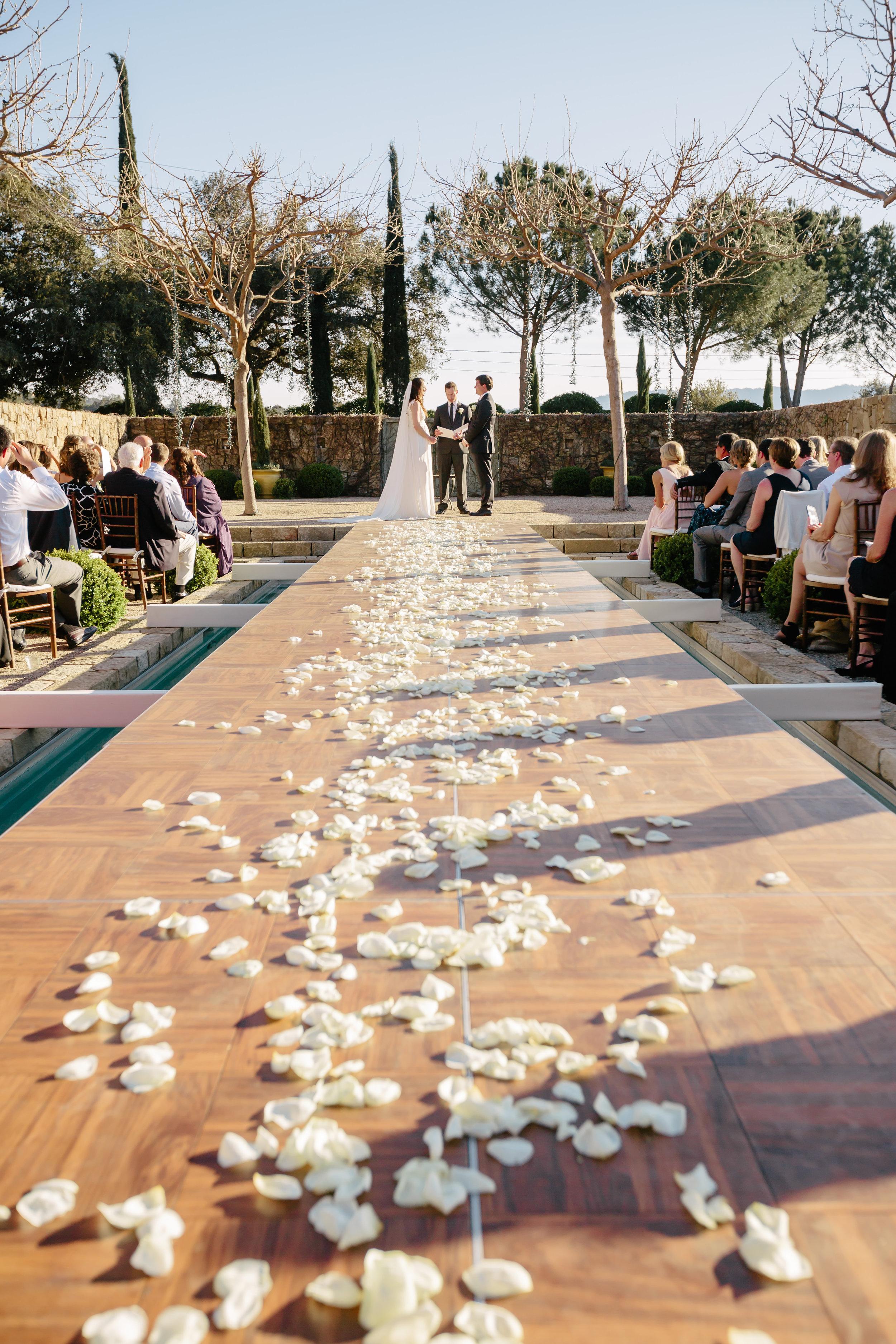www.santabarbarawedding.com | Rewind Photography | Provence in Ojai | Ceremony