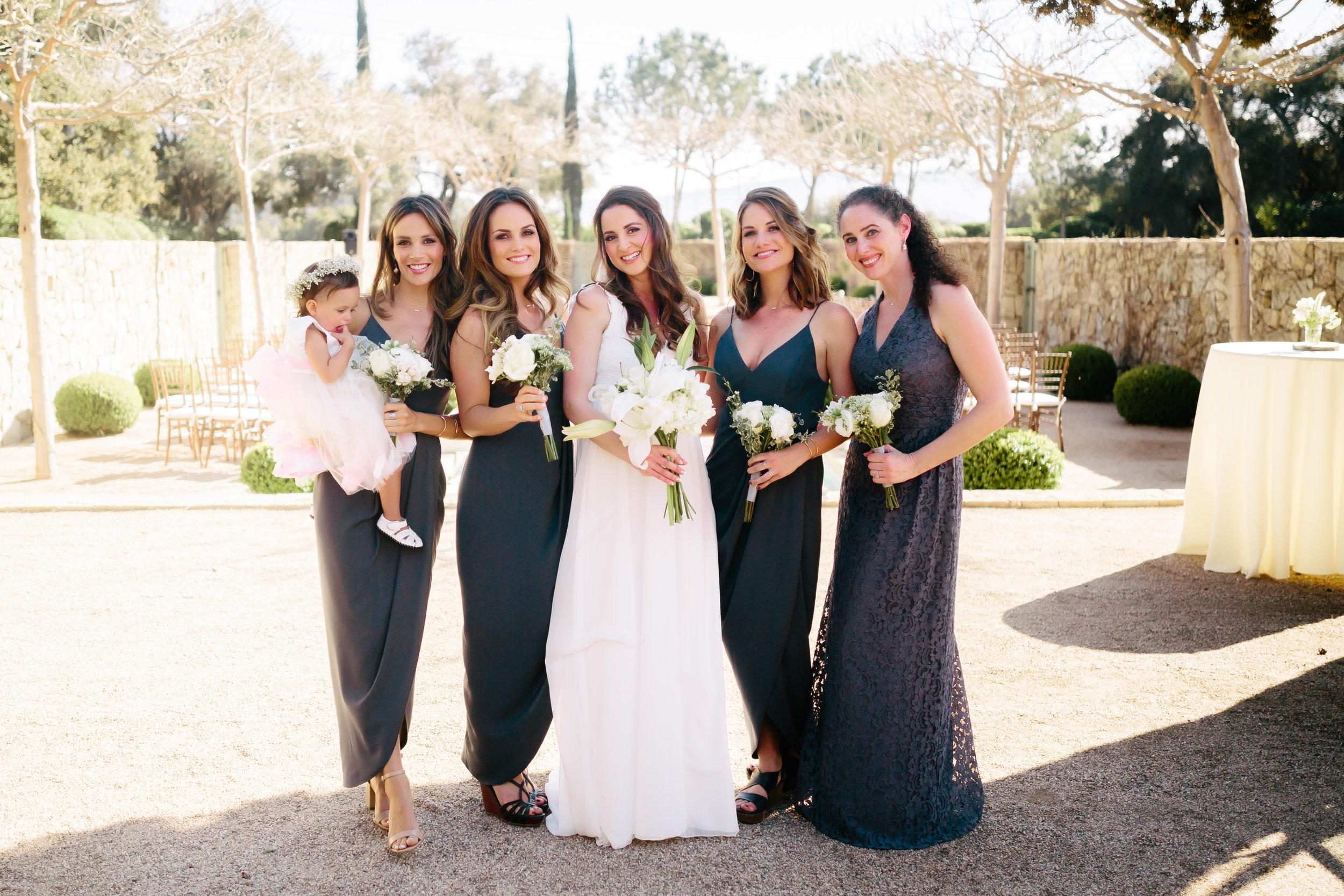 www.santabarbarawedding.com | Rewind Photography | Provence in Ojai | Bridesmaids