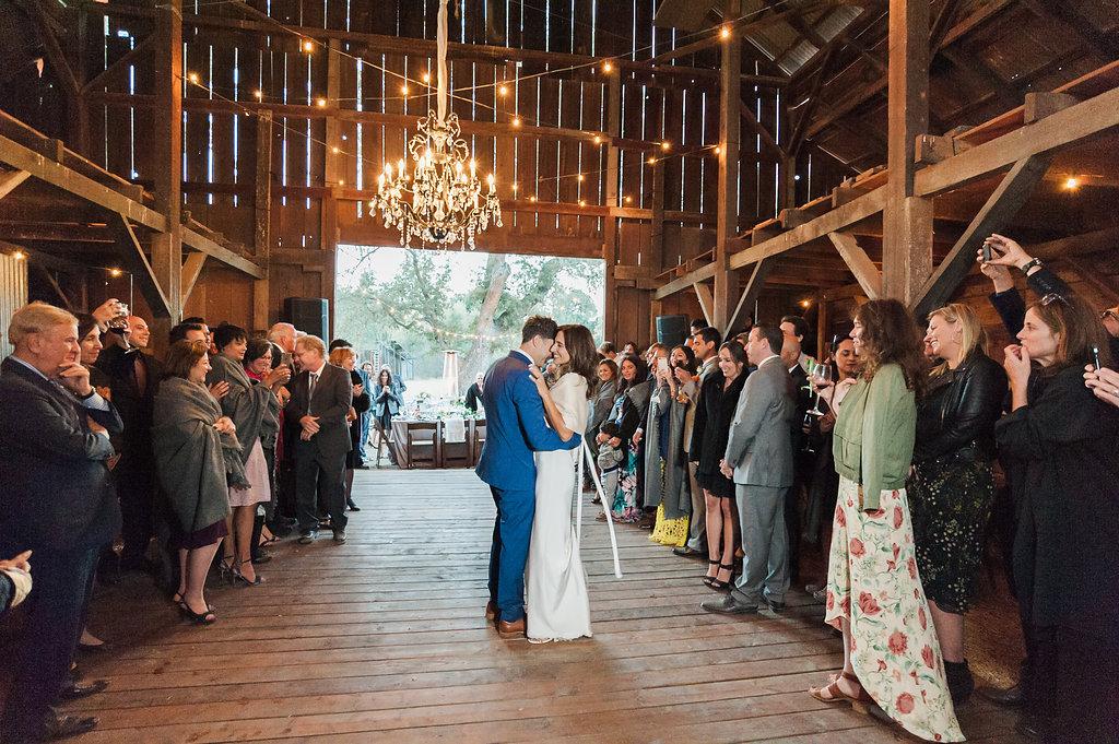 www.SantaBarbarawedding.com | Soleil Events | Gainey Vineyard Barn | Wedding Location | Rustic Venue | Bride and Groom | Lavender and Twine