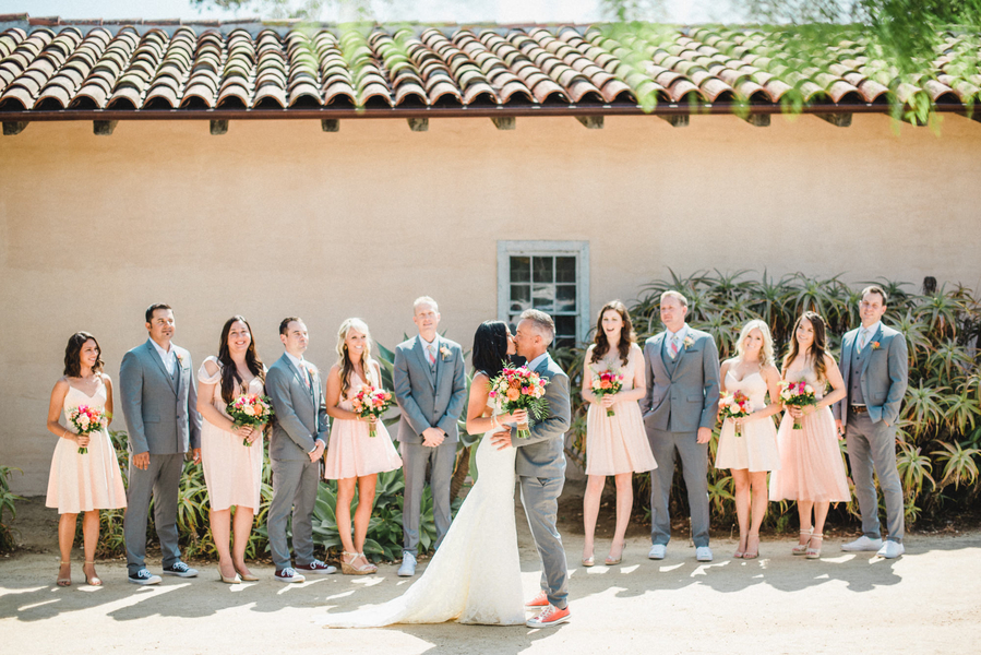 www.santabarbarawedding.com | Grace Kathryn Photography | Santa Barbara Historical Museum | Bridal Party