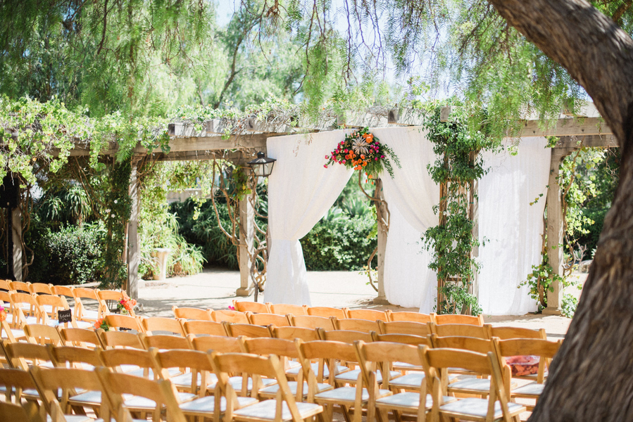 www.santabarbarawedding.com | Grace Kathryn Photography | Santa Barbara Historical Museum | Ceremony
