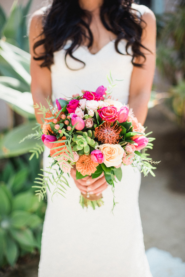 www.santabarbarawedding.com | Grace Kathryn Photography | Santa Barbara Historical Museum | Bridal Bouquet