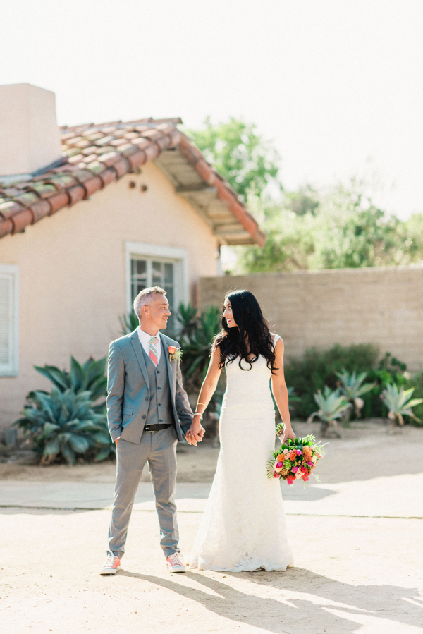 www.santabarbarawedding.com | Grace Kathryn Photography | Santa Barbara Historical Museum | Bride and Groom