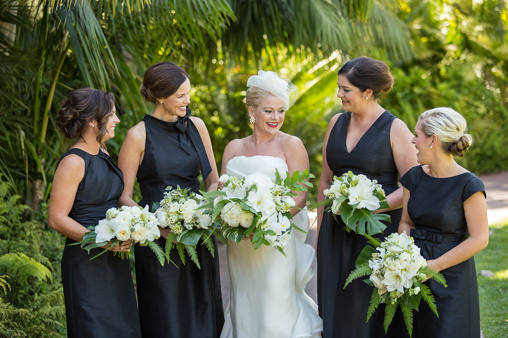 www.santabarbarawedding.com | Melissa Musgrove Photography | Four Seasons Resort The Biltmore | Bridesmaids