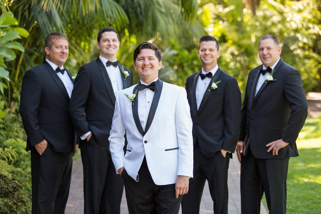 www.santabarbarawedding.com | Melissa Musgrove Photography | Four Seasons Resort The Biltmore | Groomsmen