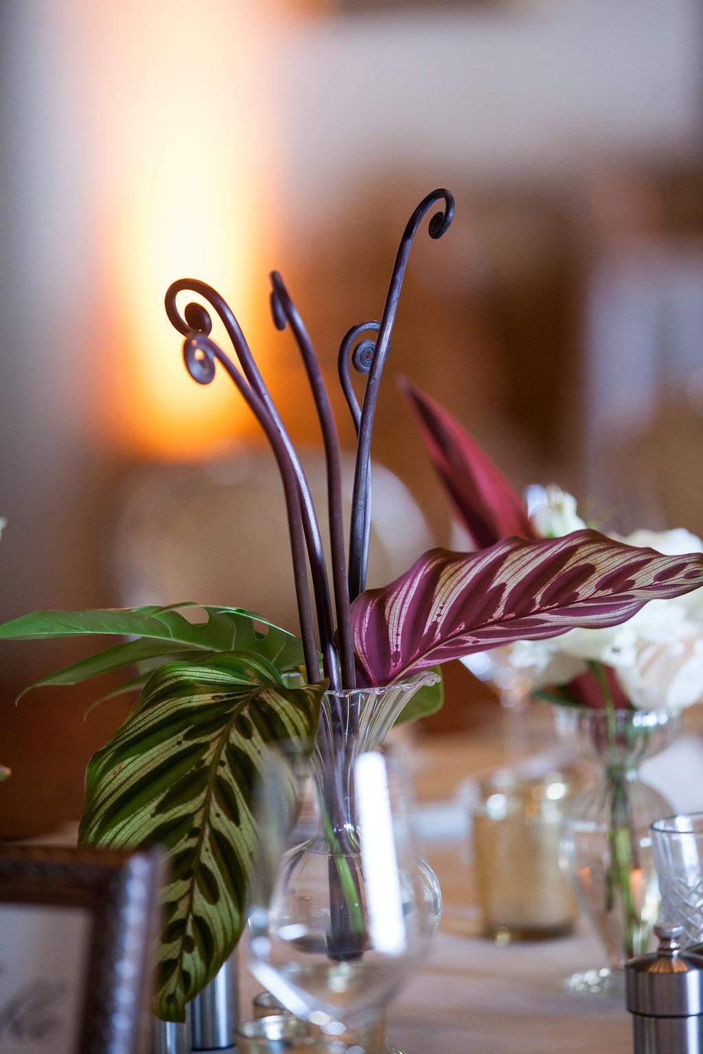 www.santabarbarawedding.com | Melissa Musgrove Photography | Four Seasons Resort The Biltmore | Reception Flower Arrangement