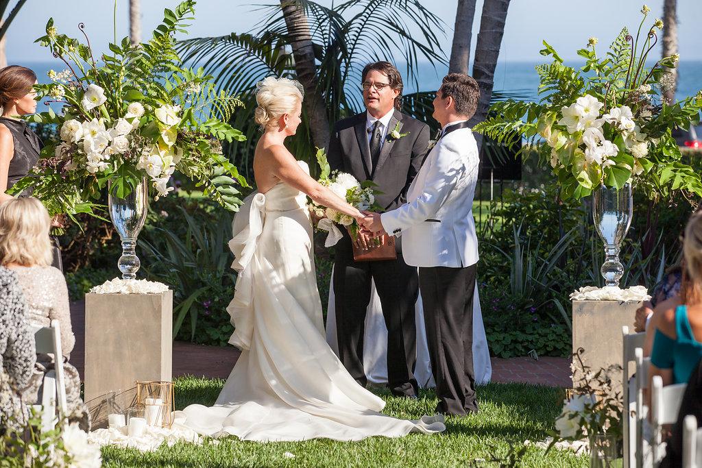 www.santabarbarawedding.com | Melissa Musgrove Photography | Four Seasons Resort The Biltmore | Ceremony | Vows