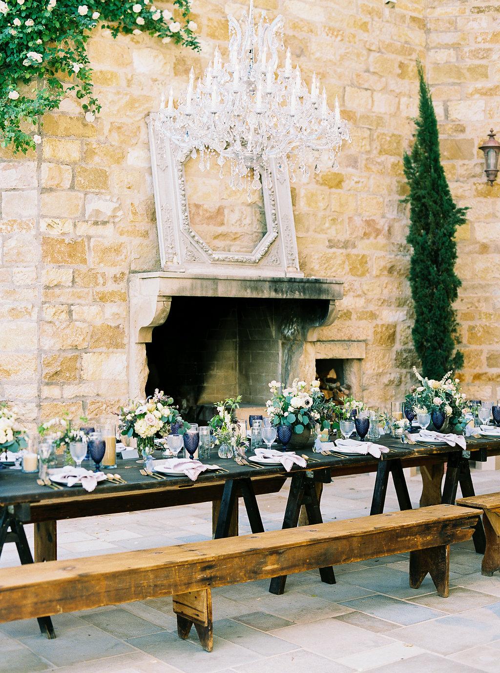 www.santabarbarawedding.com | Sunstone Winery | Jen Rodriguez | Dinner Party