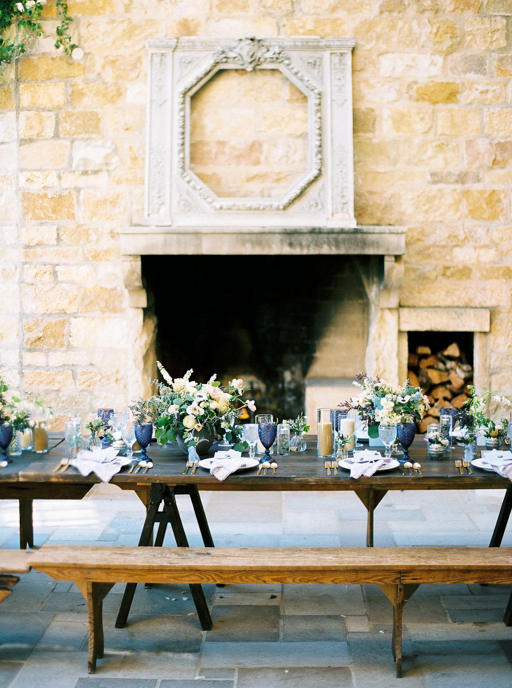 www.santabarbarawedding.com | Sunstone Winery | Jen Rodriguez | Dinner Party | Dinner Table