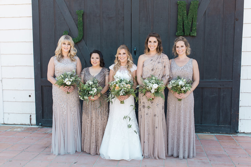 www.santabarbarawedding.com | Jessica Angell Photography | Apple Creek Ranch | Bridesmaids