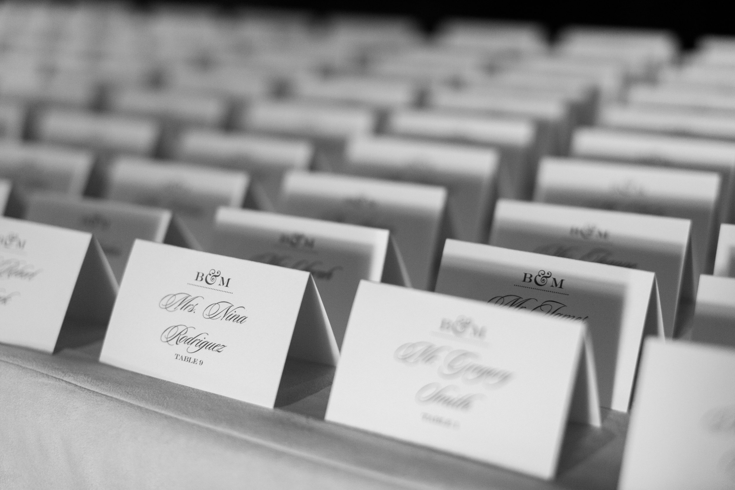 www.santabarbarawedding.com | Ashley Kelemen Photography | Four Seasons Santa Barbara | Escort Cards