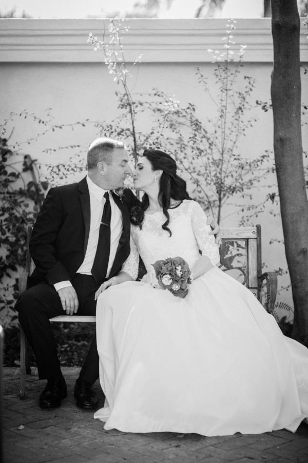 www.santabarbarawedding.com | By Cherry Photography | Santa Barbara Club | Bride and Groom