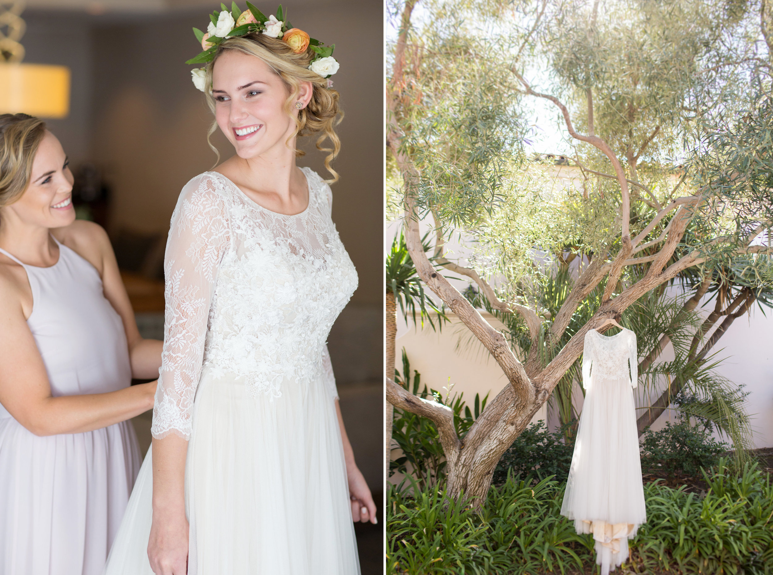 www.santabarbarawedding.com | Anna J Photography | Santa Barbara Courthouse | Bride getting ready