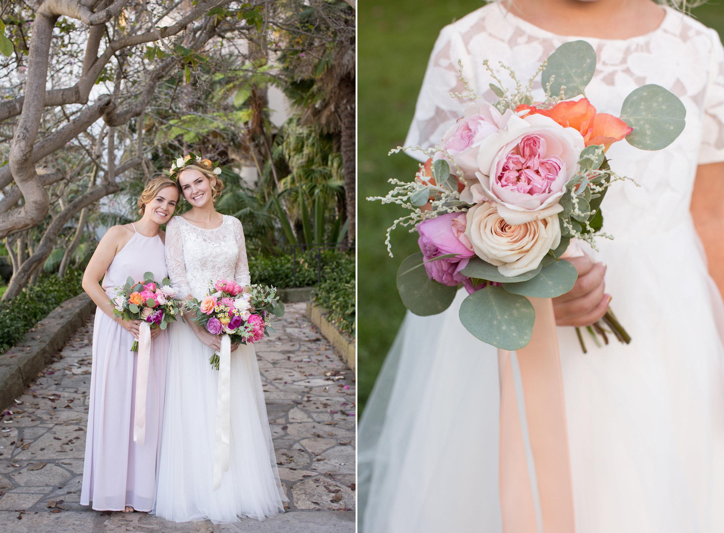 www.santabarbarawedding.com | Anna J Photography | Santa Barbara Courthouse | Bridesmaid | Ella & Louie