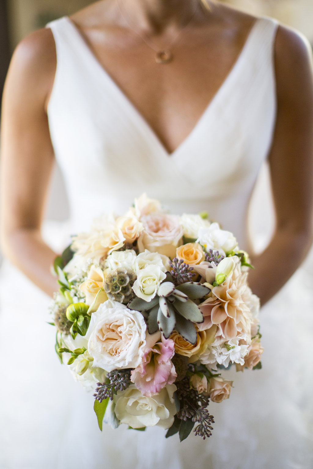 www.santabarbarawedding.com | Heartstone Ranch | Anna Schmidt Photography | Bridal Bouquet