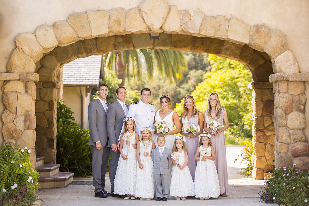 www.santabarbarawedding.com | Heartstone Ranch | Anna Schmidt Photography | Bridal Party