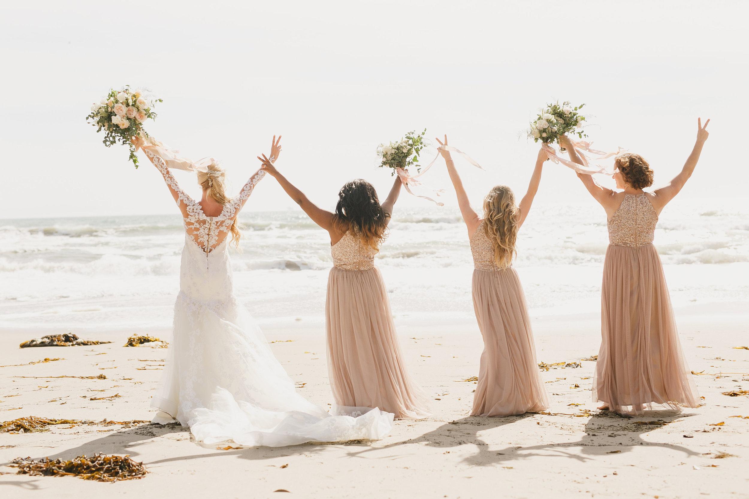 www.santabarbarawedding.com | Kristen Booth Photography | Rincon Beach Club | Bridesmaids