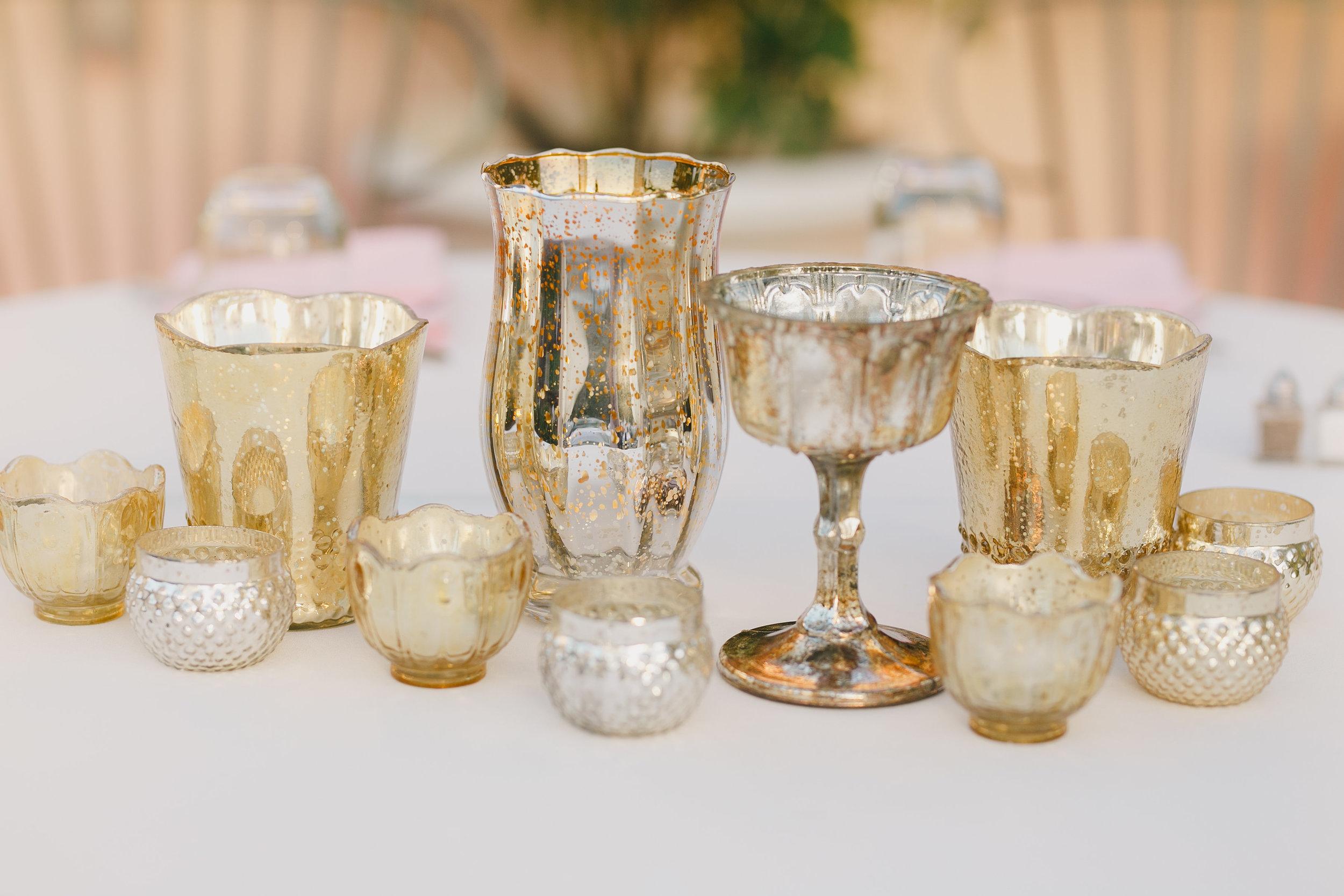 www.santabarbarawedding.com | Kristen Booth Photography | Rincon Beach Club | Reception Details | Candles