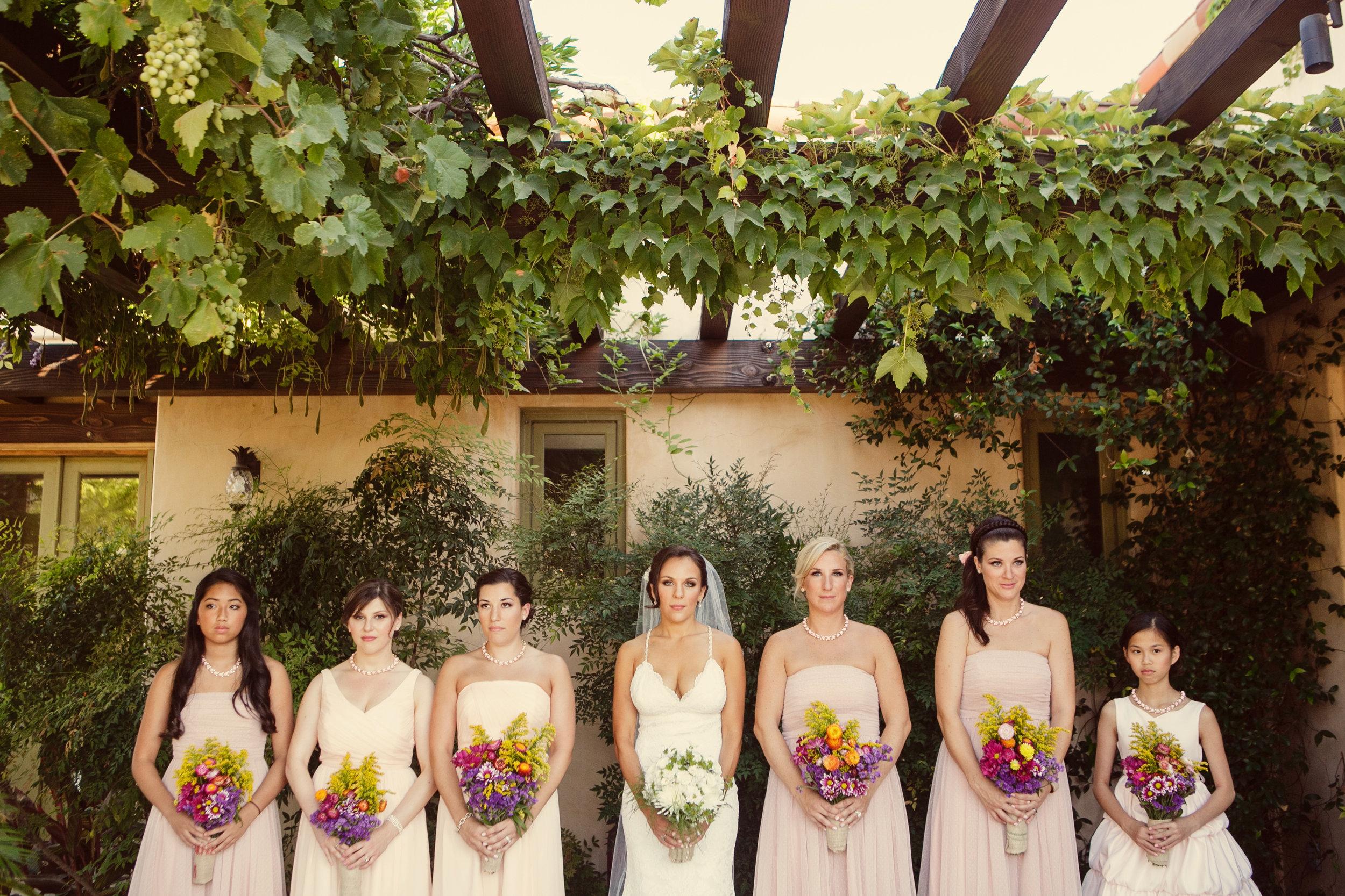 www.santabarbarawedding.com | Andrejka Photography | Red Tail Ranch | Bridesmaids