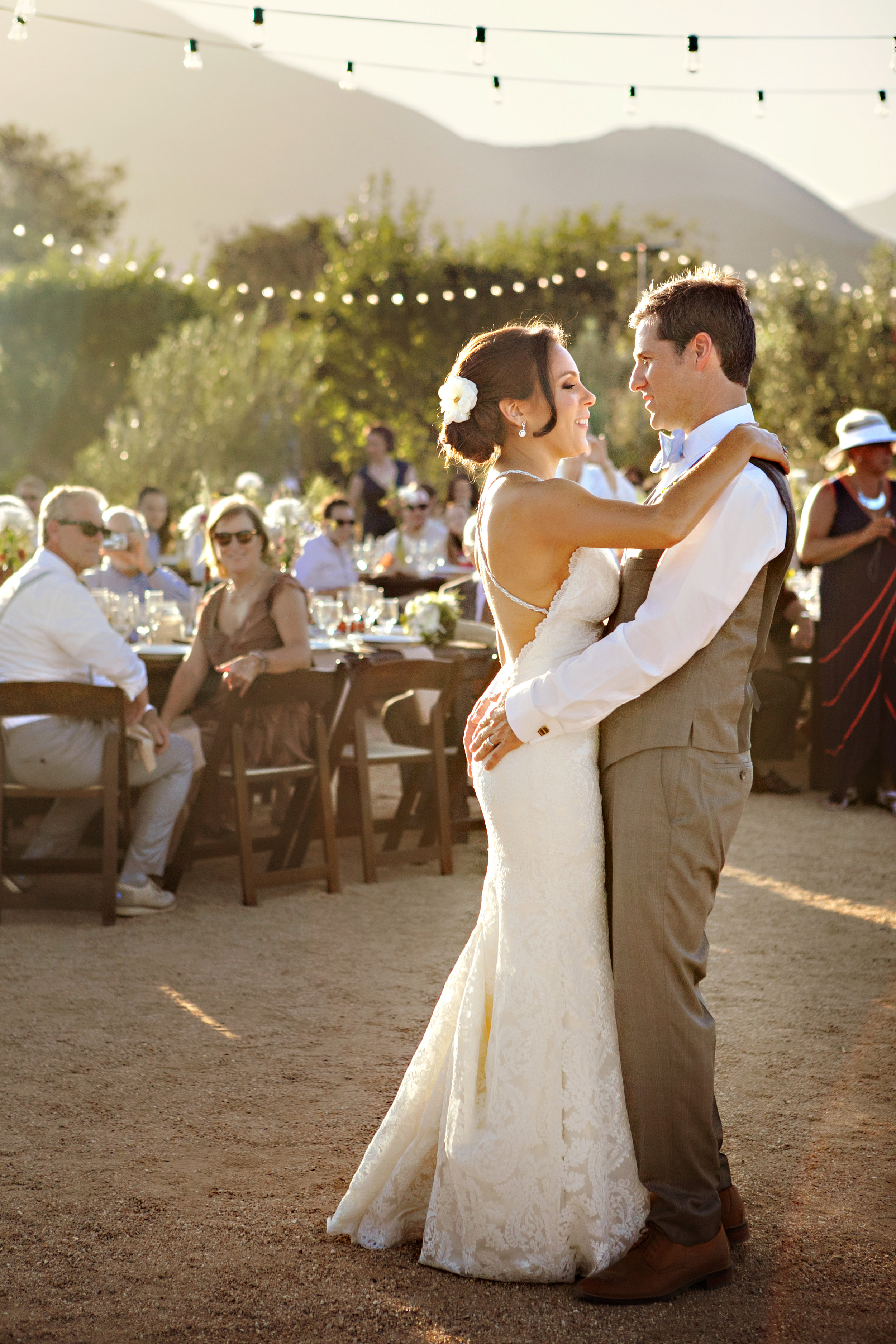 www.santabarbarawedding.com | Andrejka Photography | Red Tail Ranch | Reception | First Dance