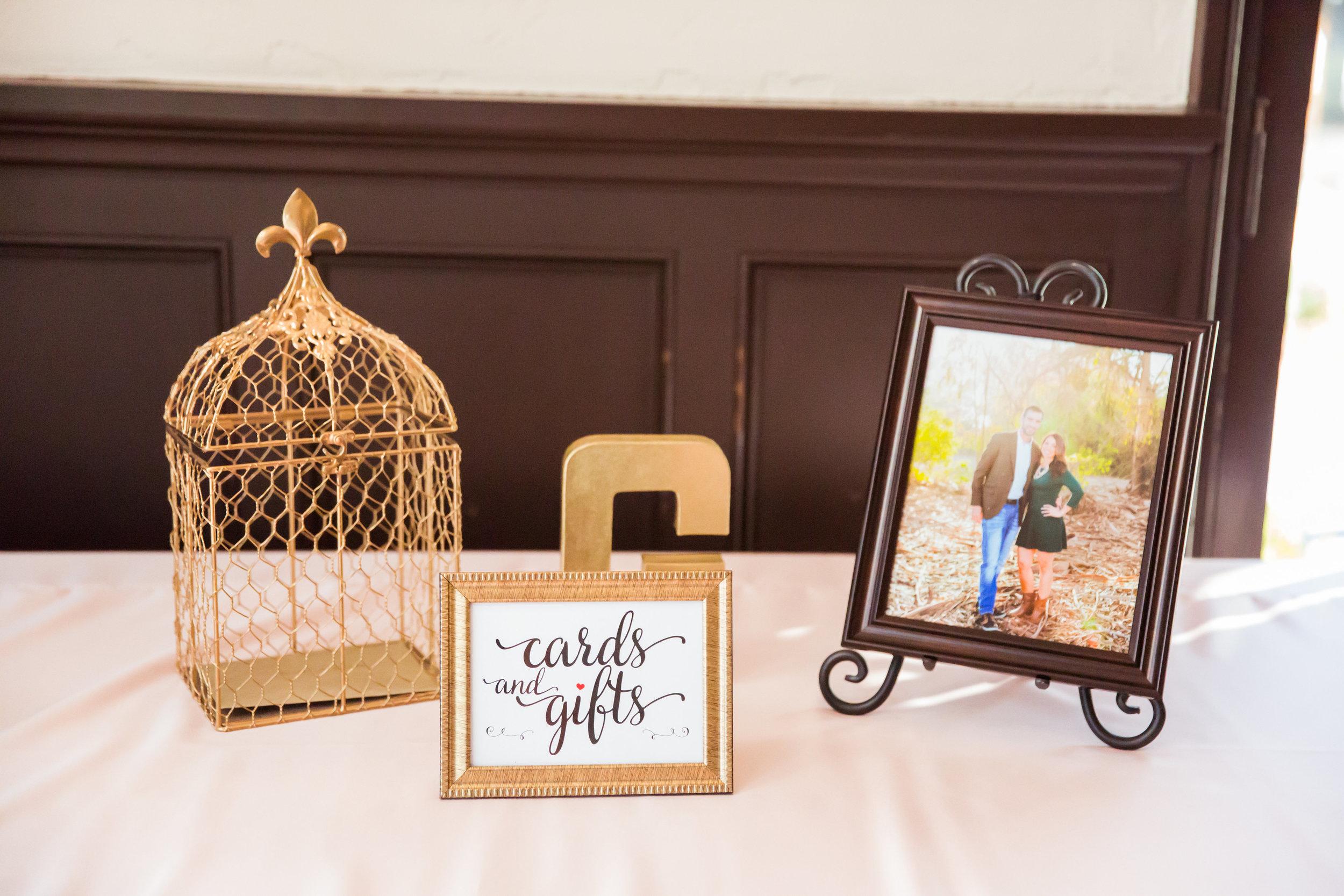 www.santabarbarawedding.com | Santa Barbara Club | Jessica Fairchild Photography | Gift Table