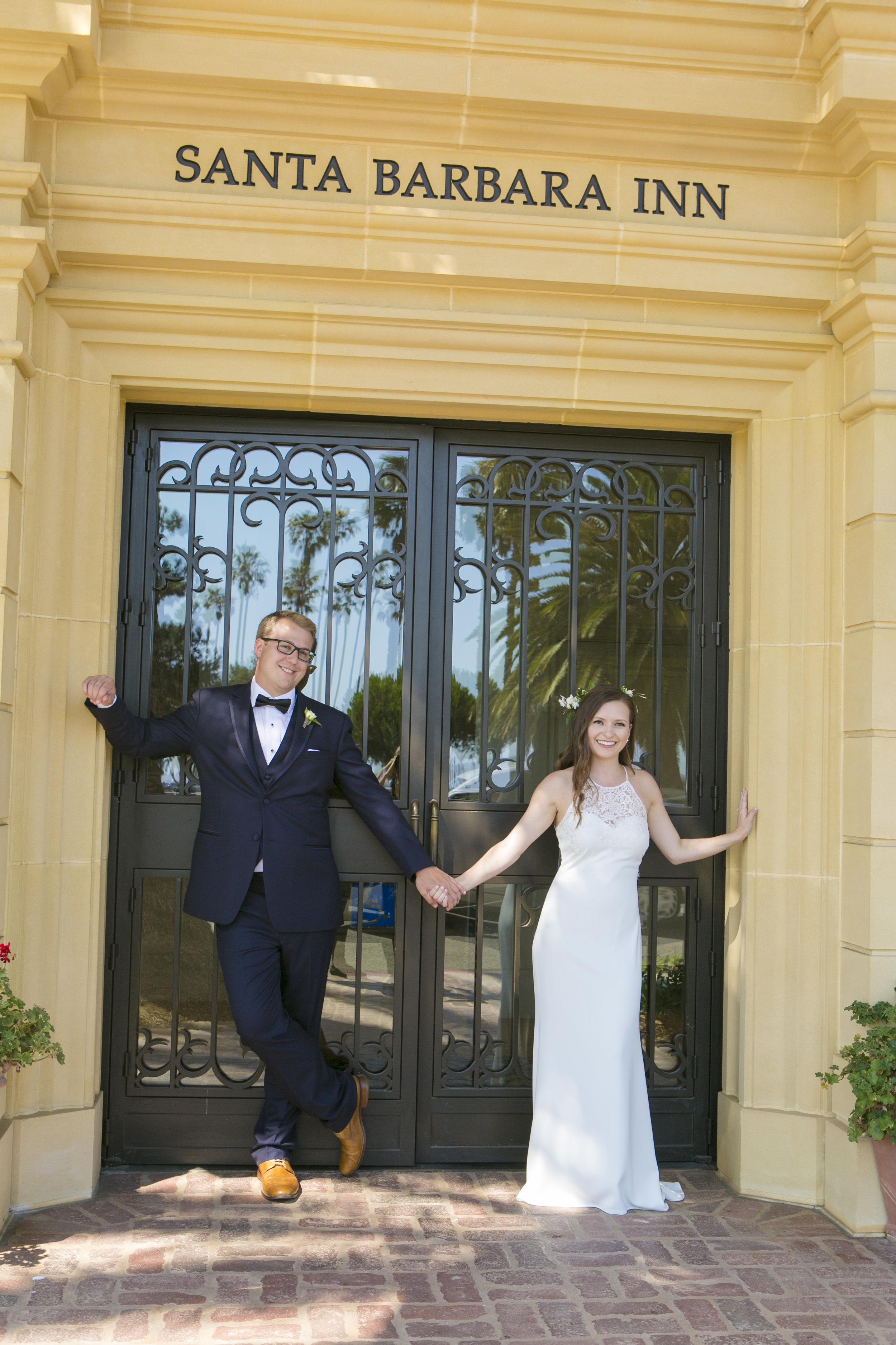 www.santabarbarawedding.com   ByCherry Photography   Felici Events   Convivo Restaurant   Bride and Groom