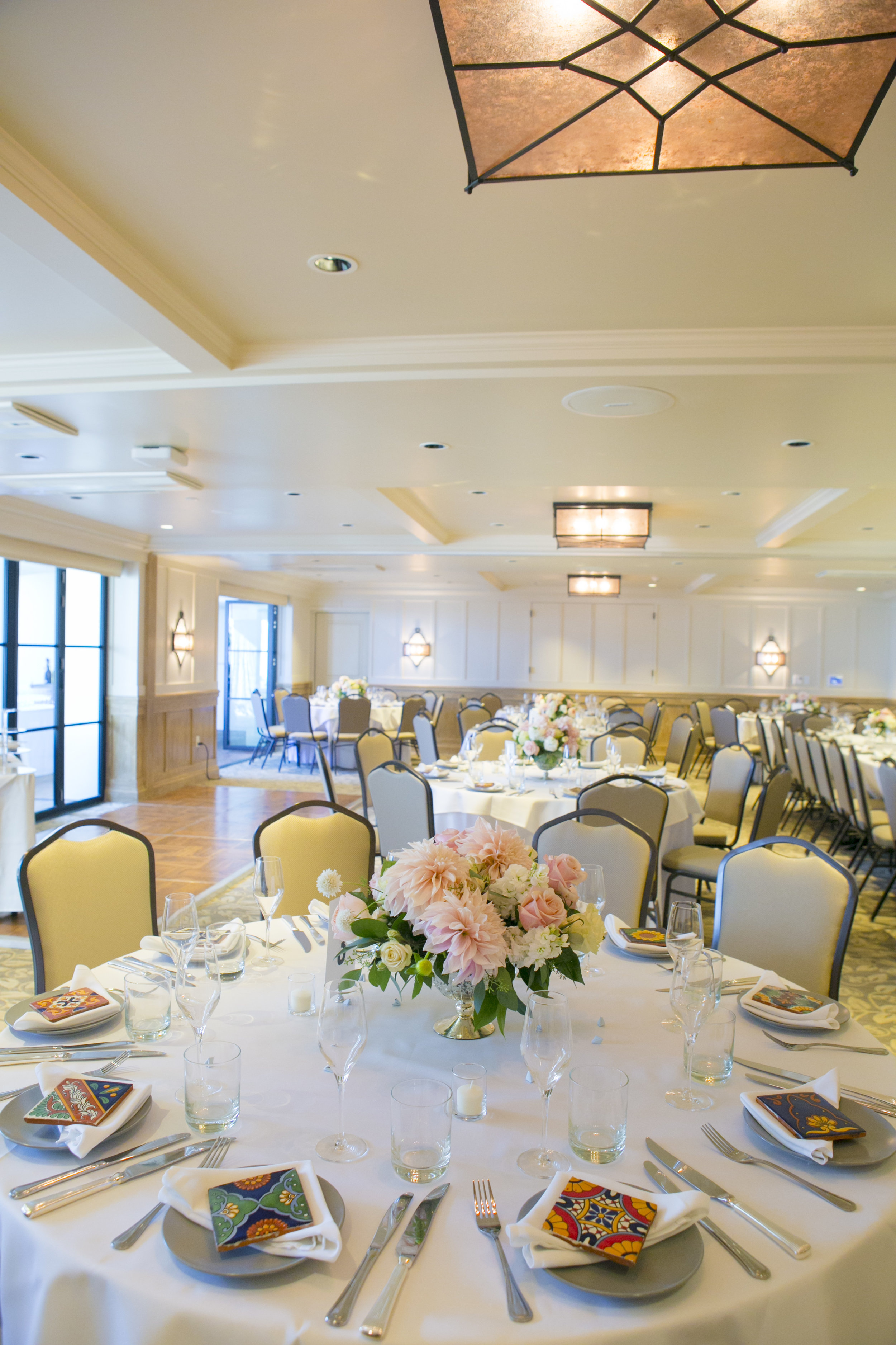 www.santabarbarawedding.com | ByCherry Photography | Felici Events | Convivo Restaurant | Reception Table