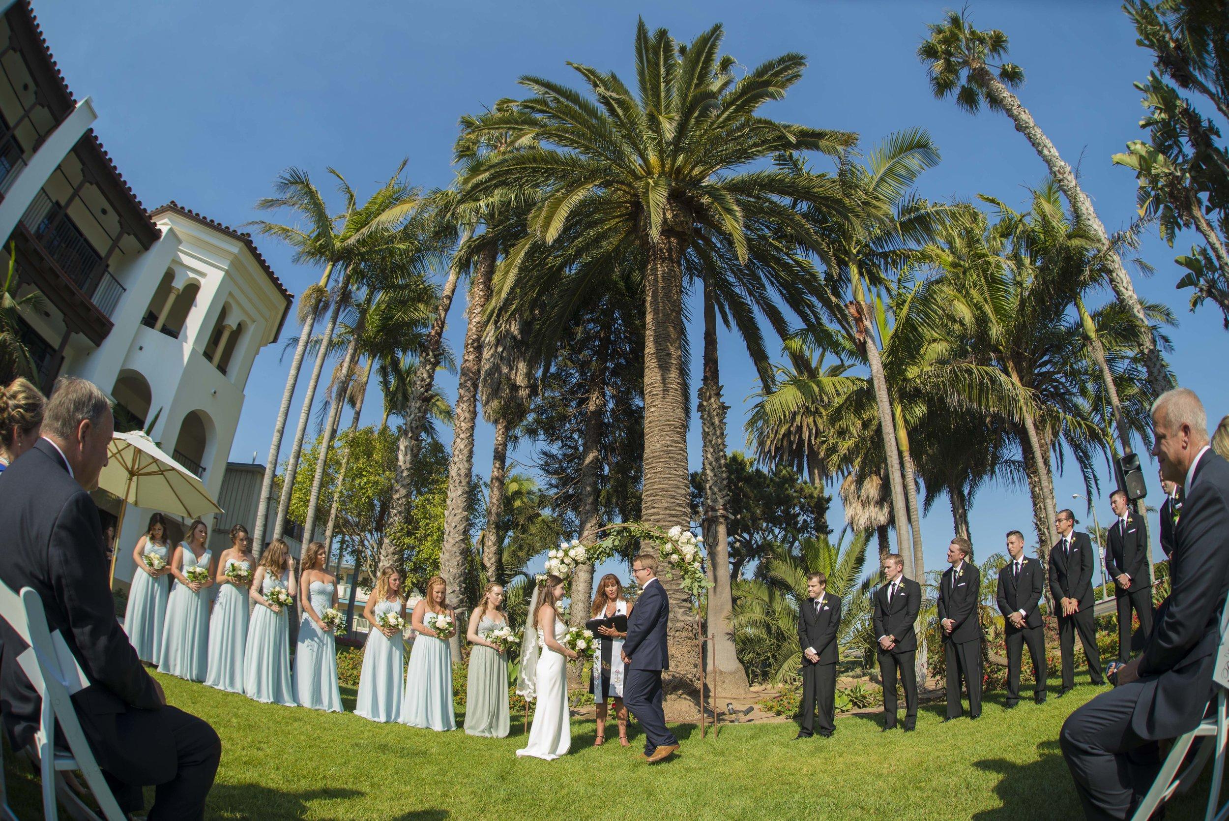 www.santabarbarawedding.com | ByCherry Photography | Felici Events | Convivo Restaurant | Ceremony