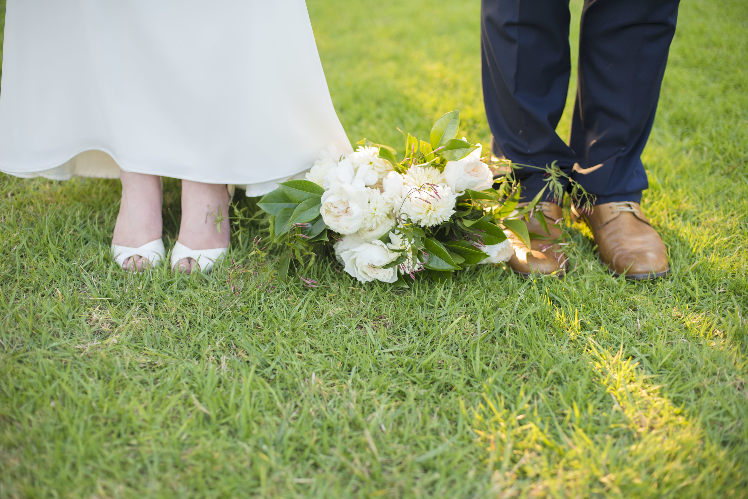 www.santabarbarawedding.com | ByCherry Photography | Felici Events | Convivo Restaurant | Bride and Groom Shoes