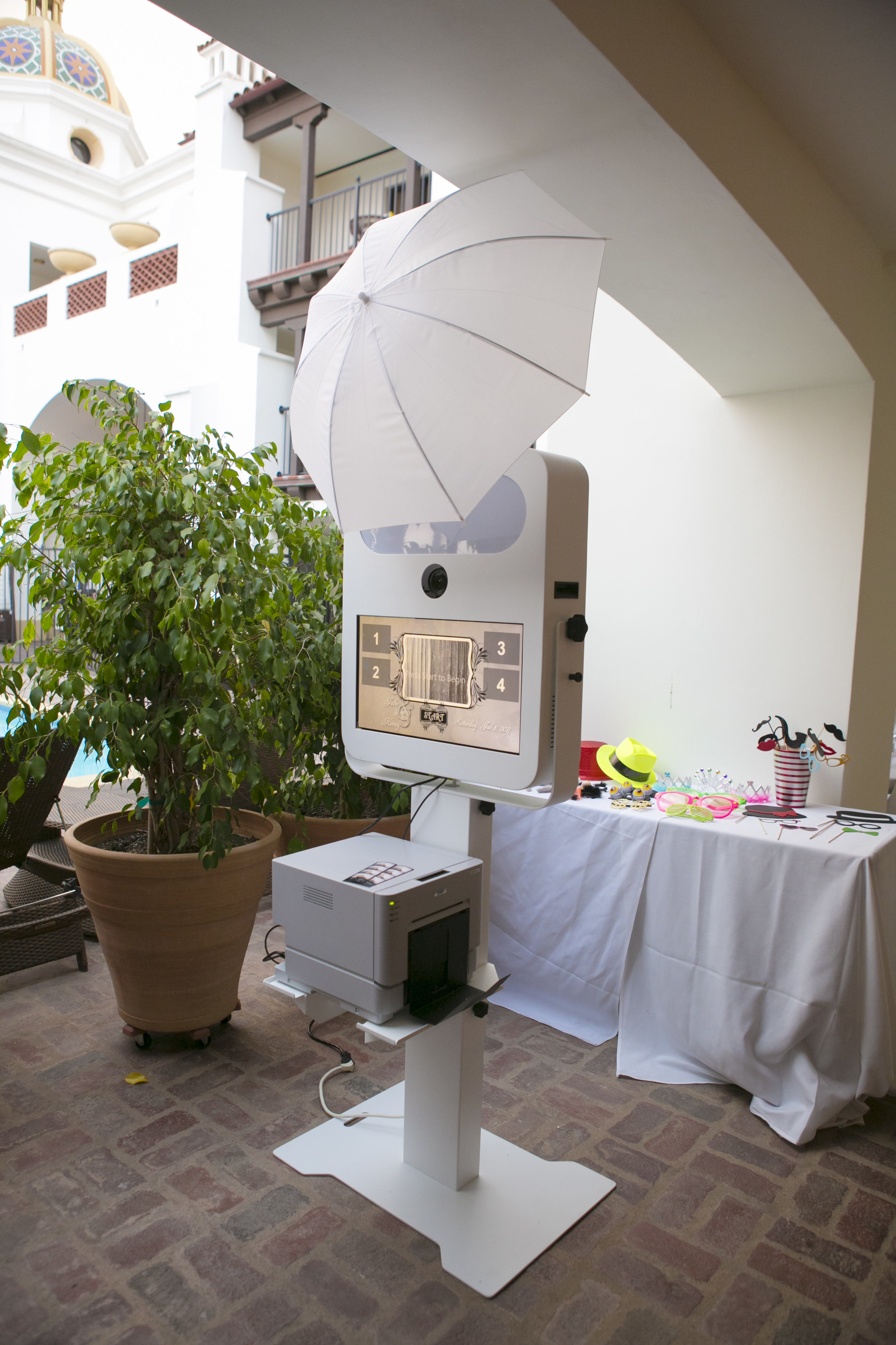 www.santabarbarawedding.com   ByCherry Photography   Felici Events   Convivo Restaurant   Photo Booth