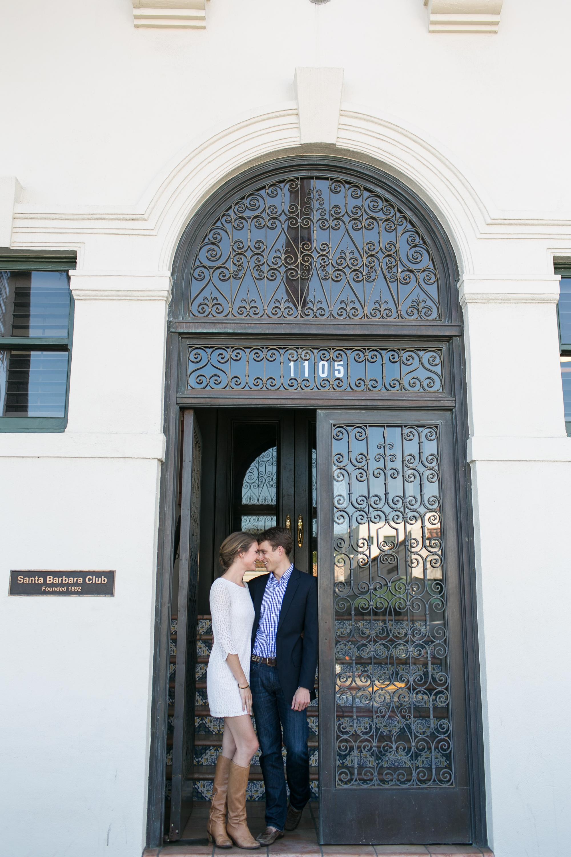 www.santabarbarawedding.com | Kelsey Crews Photo | Santa Barbara Club | Engagement Session