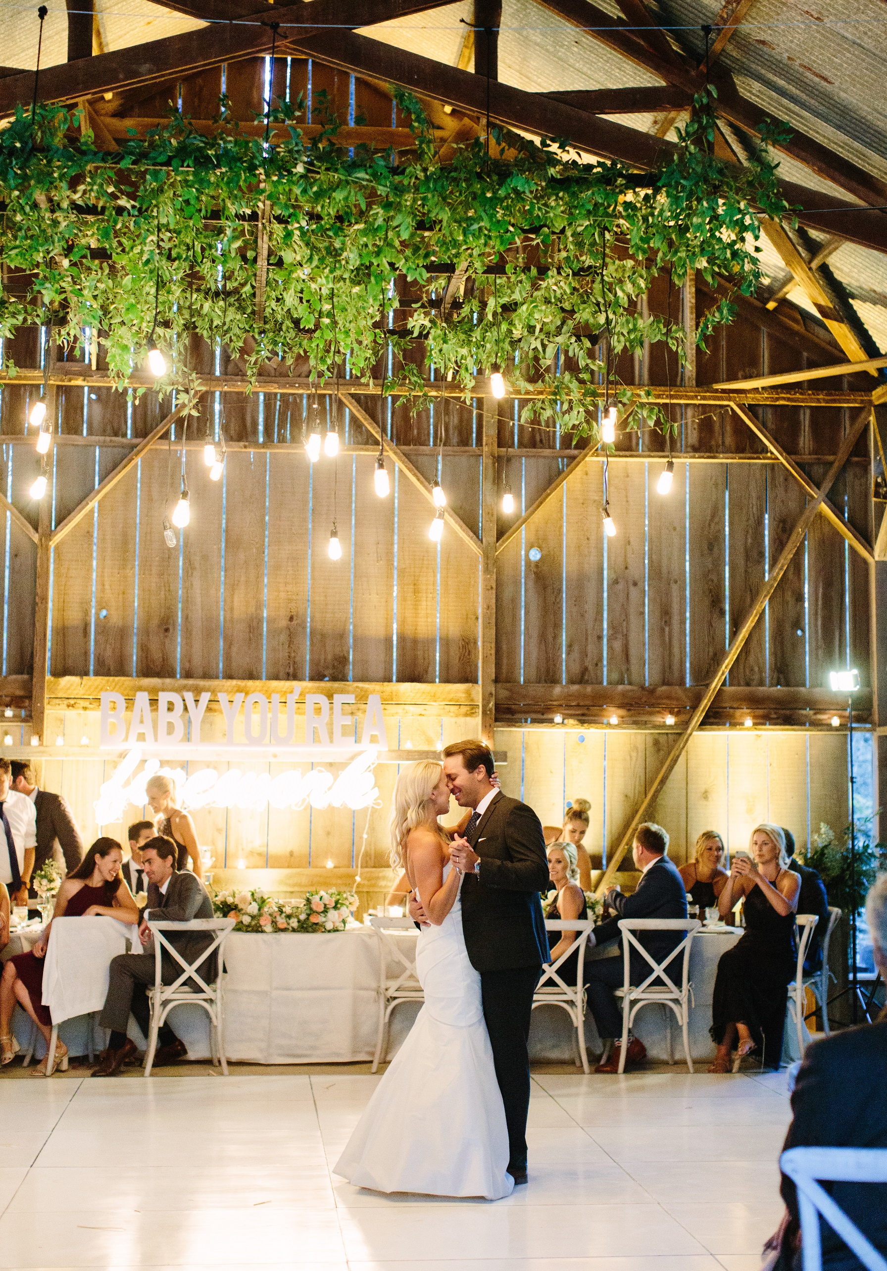 www.santabarbarawedding.com | Dos Pueblos Ranch | Birds of a Feather | First Dance