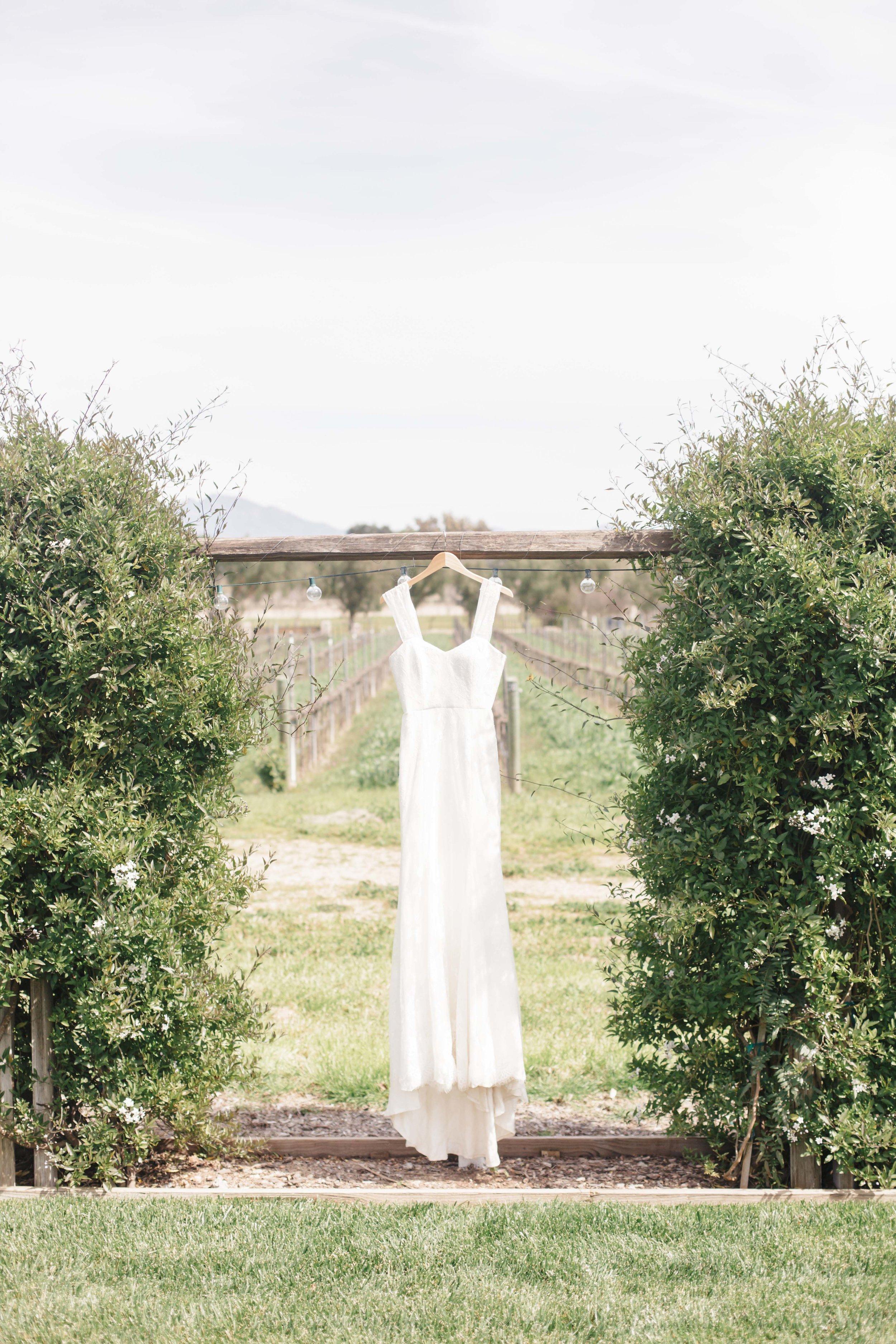www.santabarbarawedding.com   Molly + Co   Sogno Del Fiore   Wedding Dress