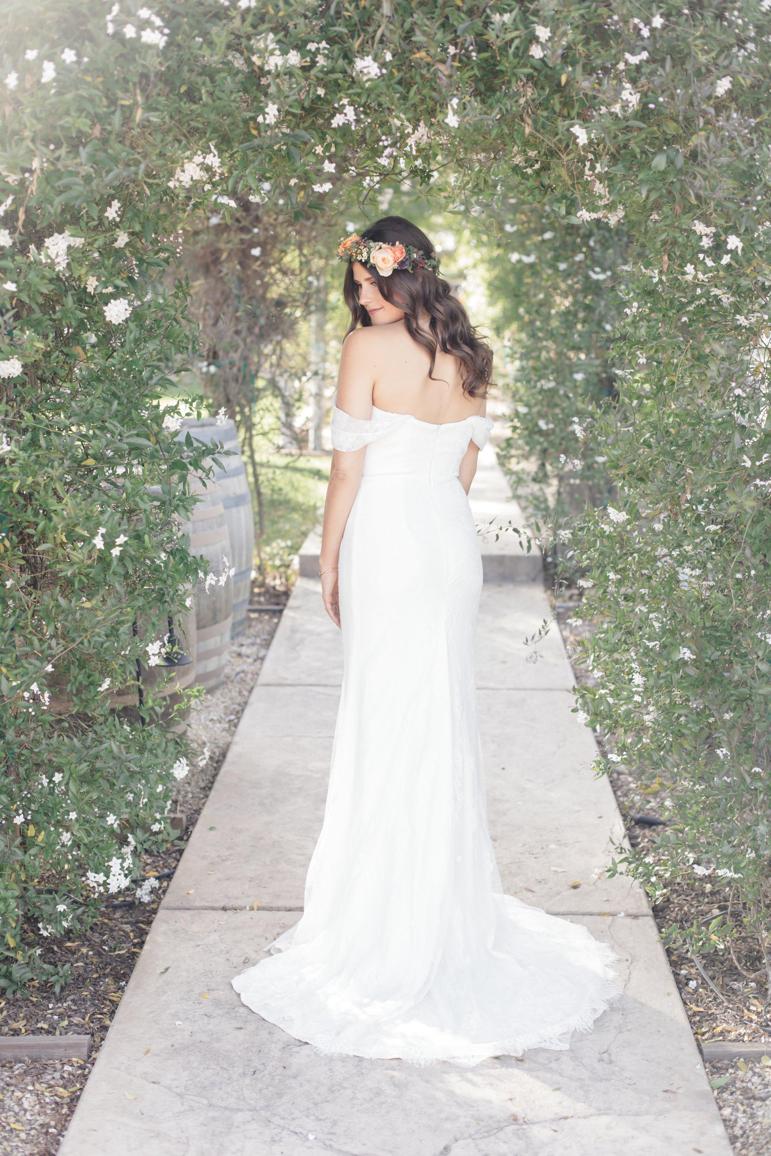 www.santabarbarawedding.com   Molly + Co   Sogno Del Fiore   Bride