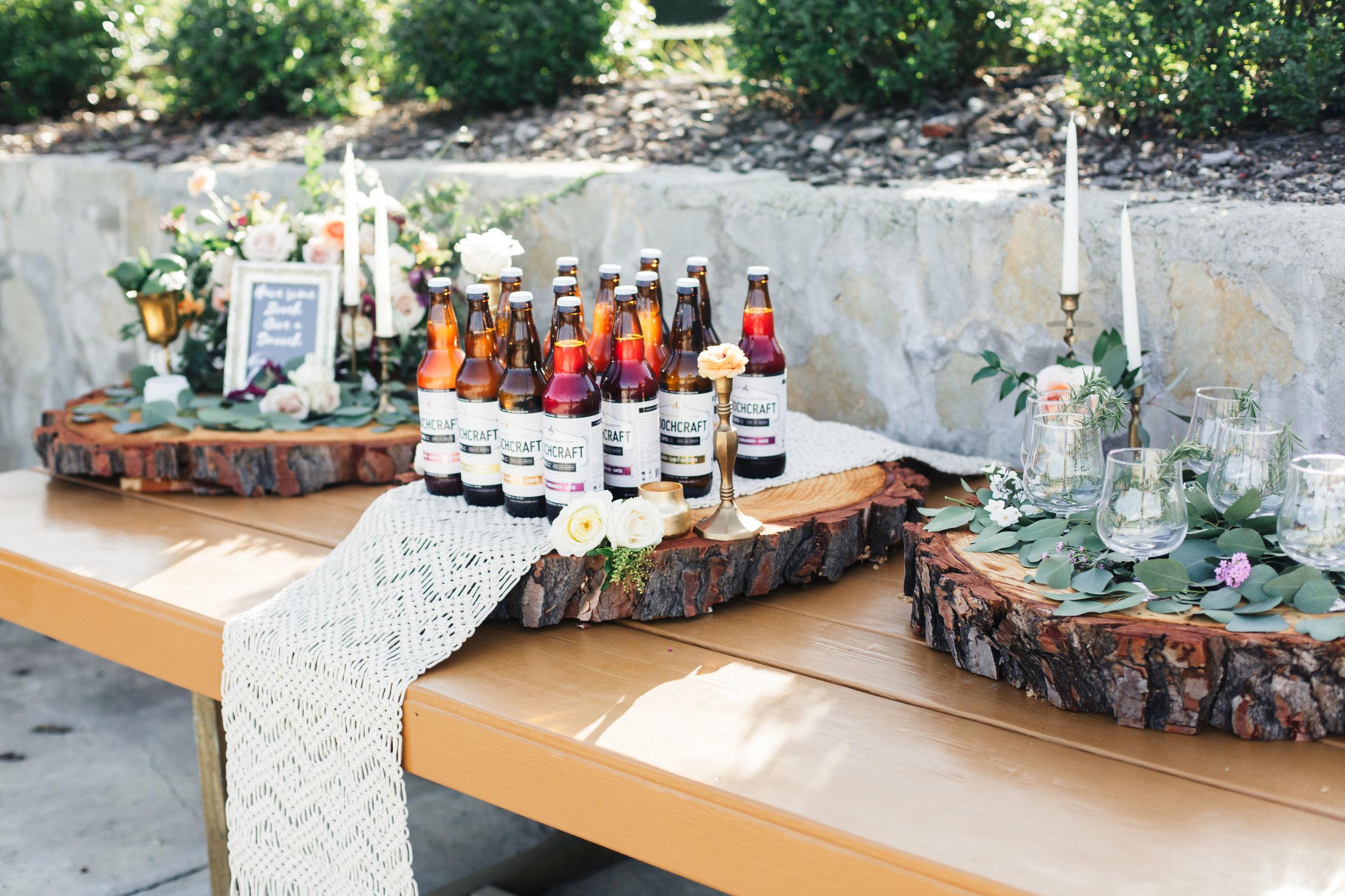 www.santabarbarawedding.com   Molly + Co   Sogno Del Fiore   Bar