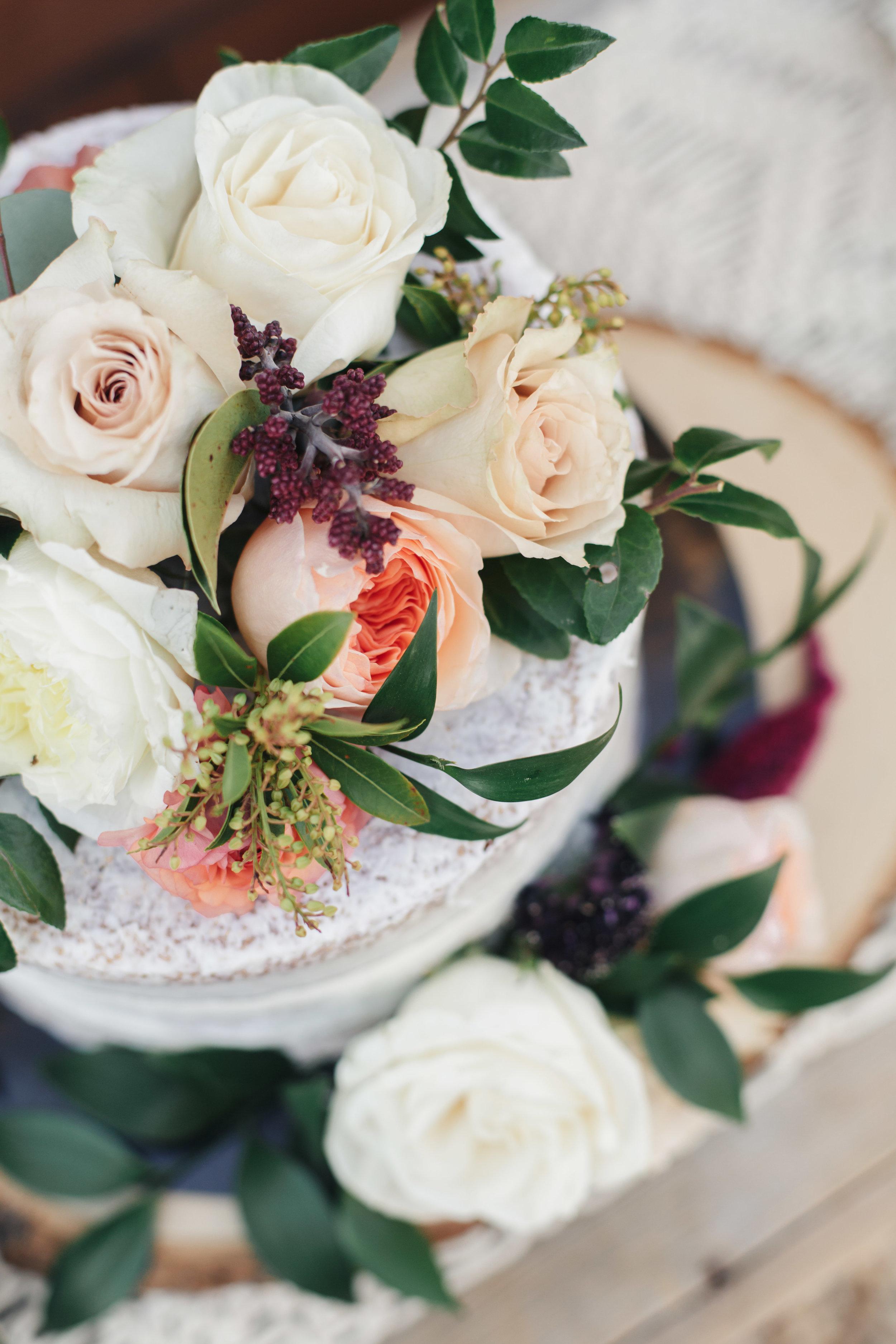 www.santabarbarawedding.com   Molly + Co   Sogno Del Fiore   Wedding Cake