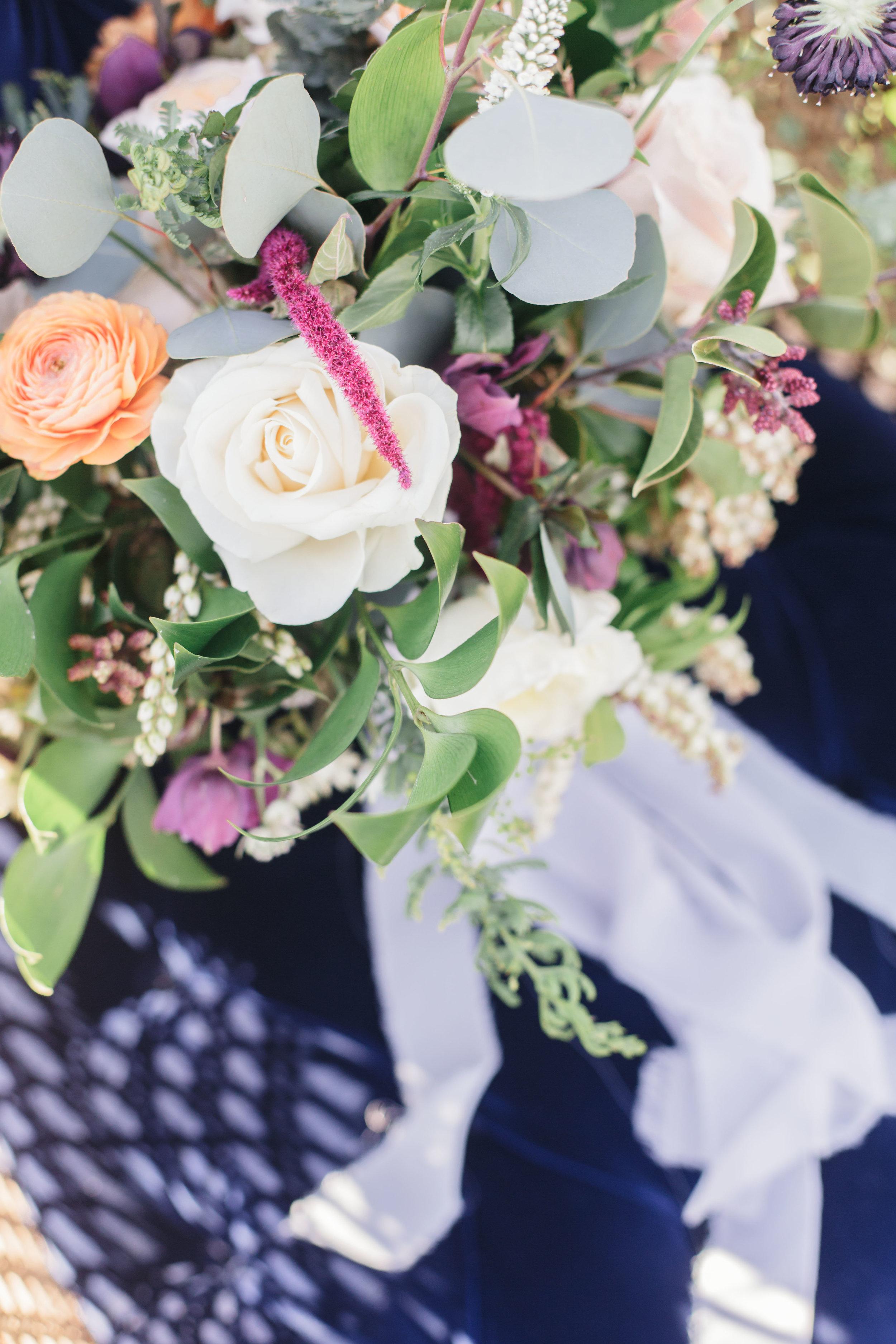 www.santabarbarawedding.com   Molly + Co   Sogno Del Fiore   Bouquet