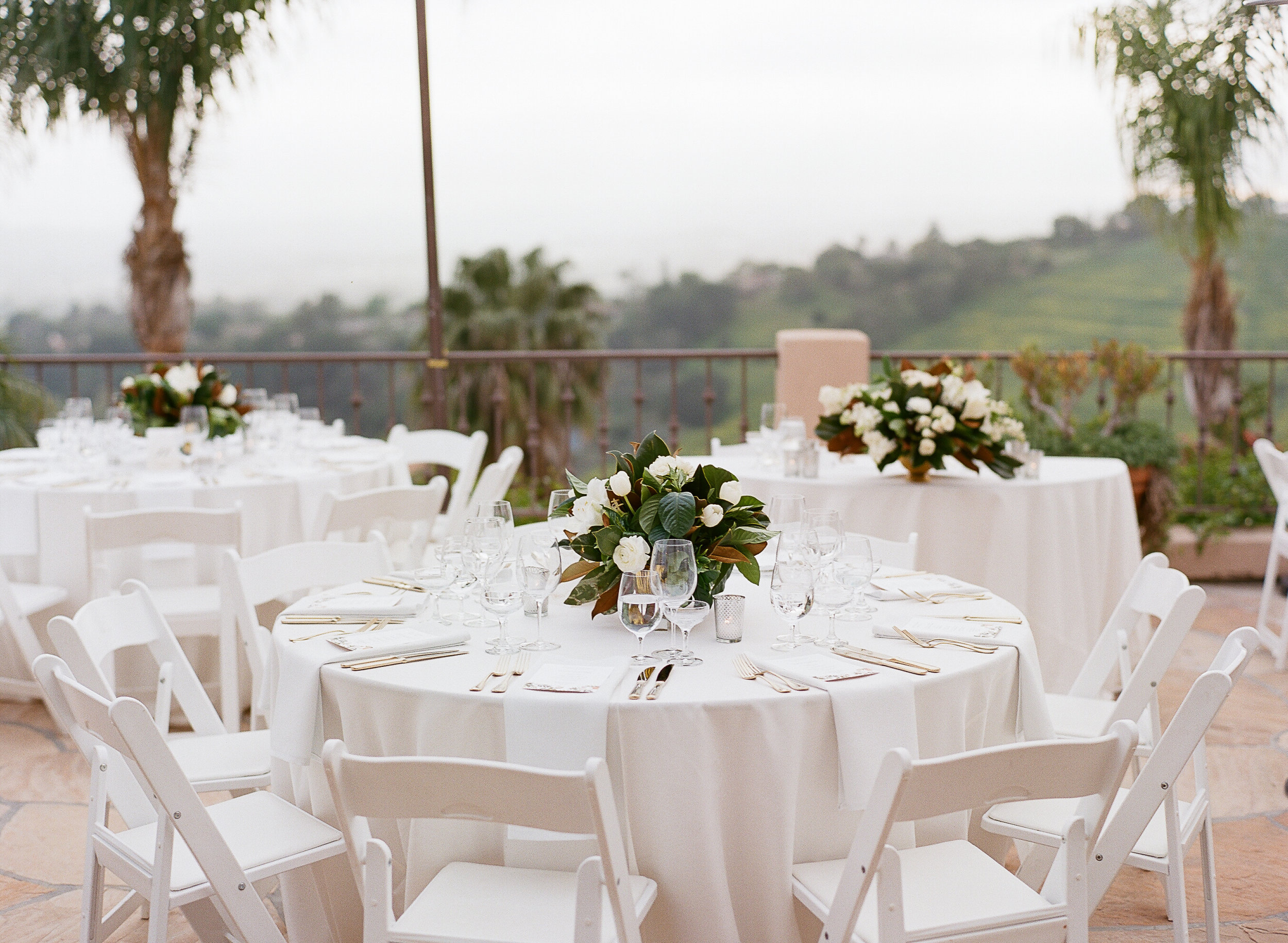 www.santabarbarawedding.com | Villa Verano | Clarissa Koenig Photography | Felici Events | Reception Table