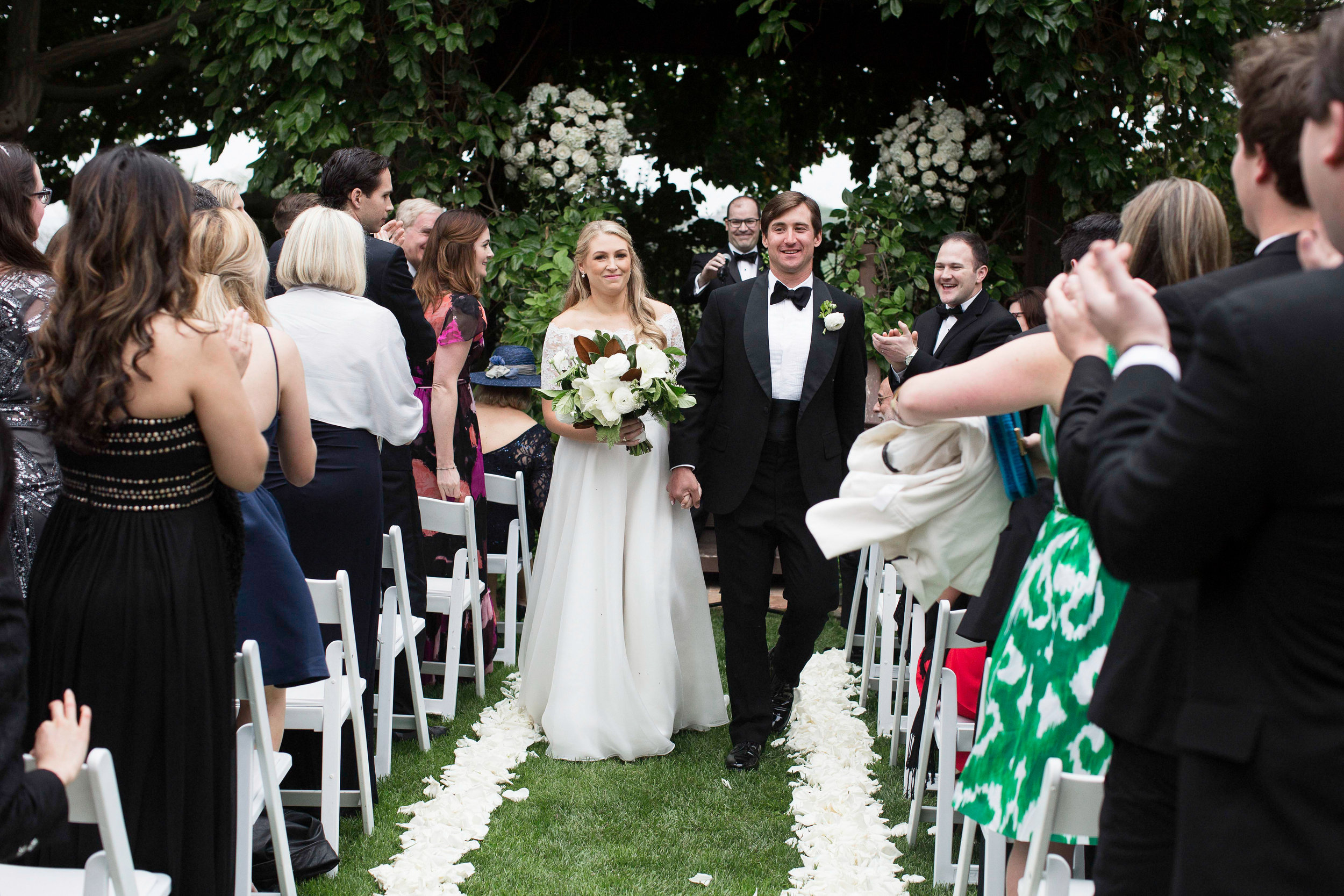 www.santabarbarawedding.com | Villa Verano | Clarissa Koenig Photography | Felici Events | Ceremony | Bride and Groom