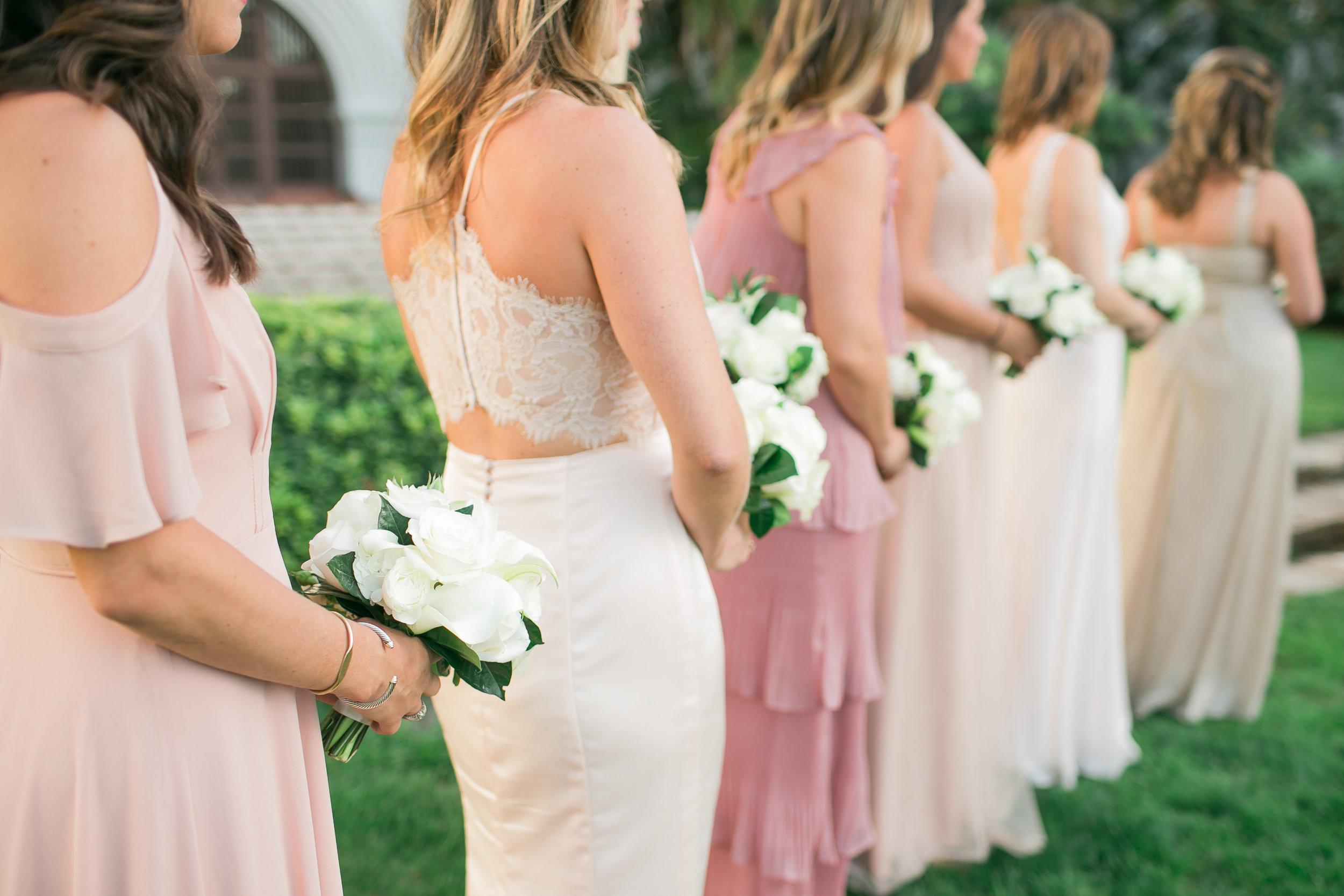 www.santabarbarawedding.com   Kelsey Crews   Felici Events   Santa Barbara Club   Bridesmaids