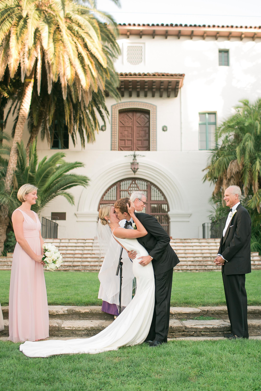 www.santabarbarawedding.com   Kelsey Crews   Felici Events   Santa Barbara Club   Ceremony