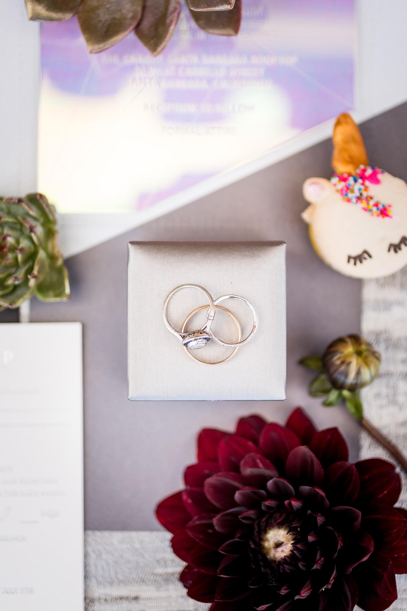 www.santabarbarawedding.com | Kiel Rucker | Canary Hotel | Wedding Rings