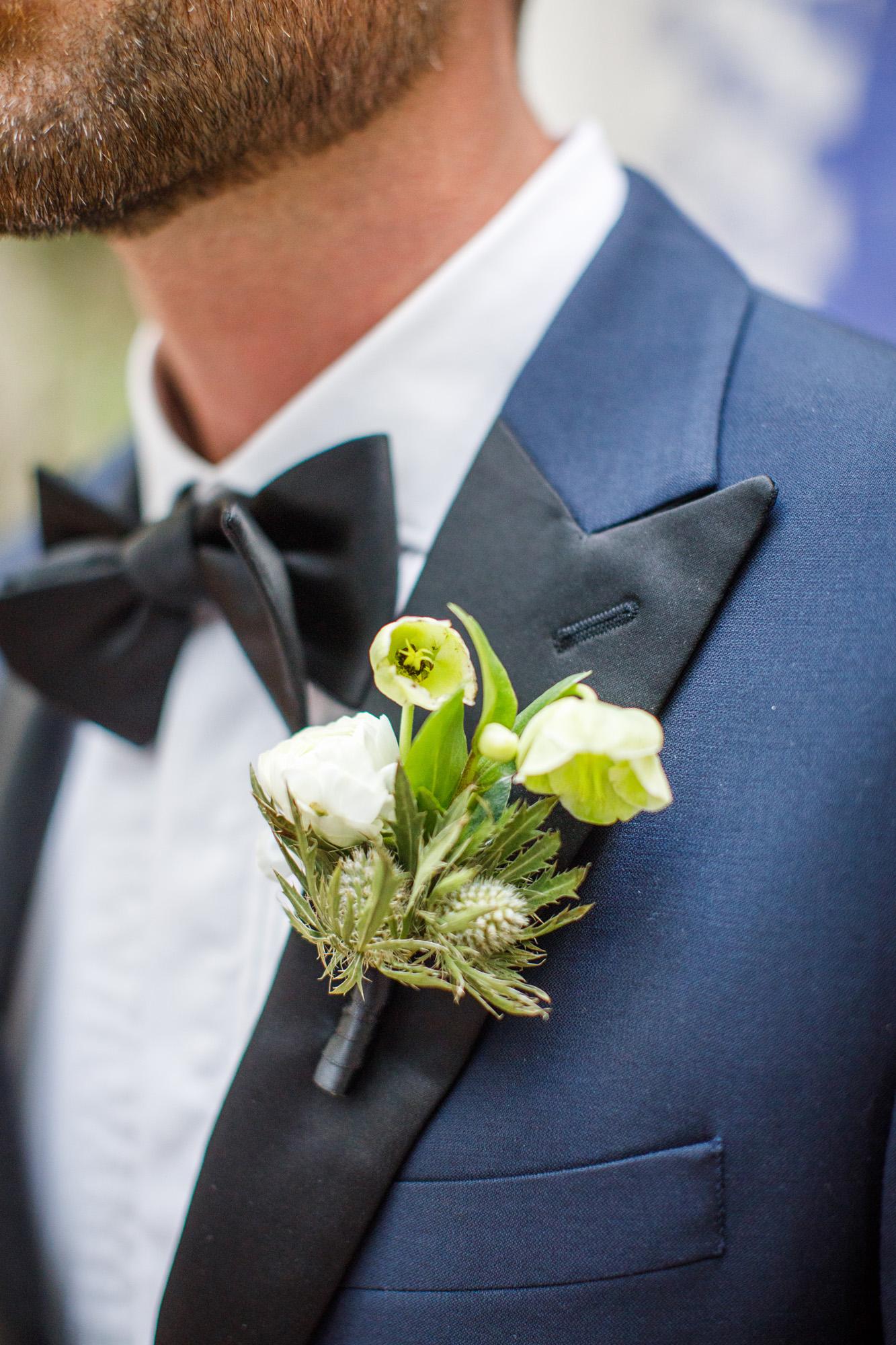 www.santabarbarawedding.com | Kiel Rucker | Canary Hotel | Groom | Boutonniere