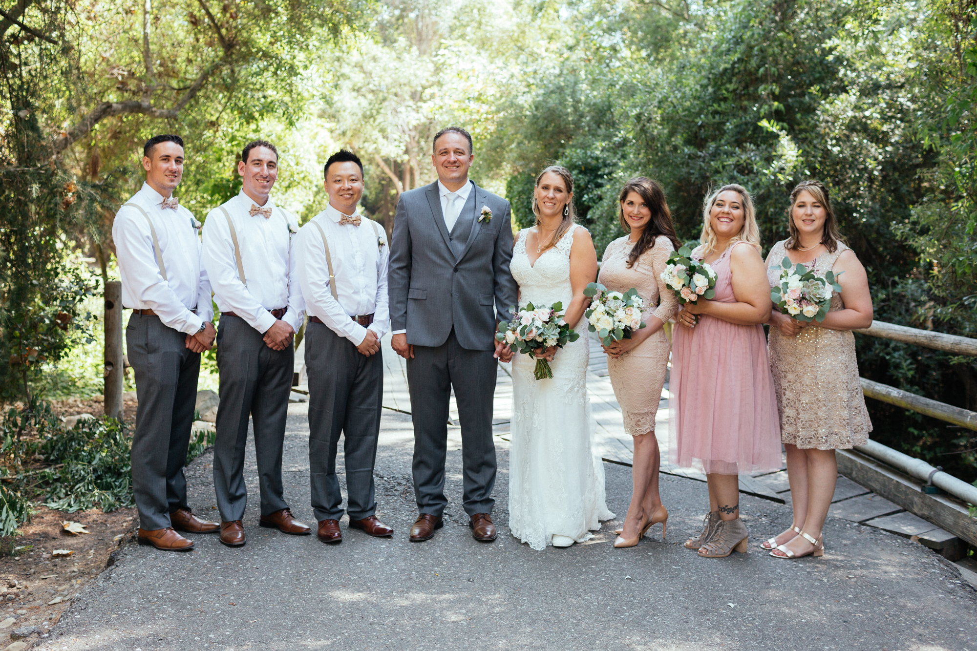 www.santabarbarawedding.com | Kaitie Brainerd Photo | Rancho Dos Pueblos | Bridal Party