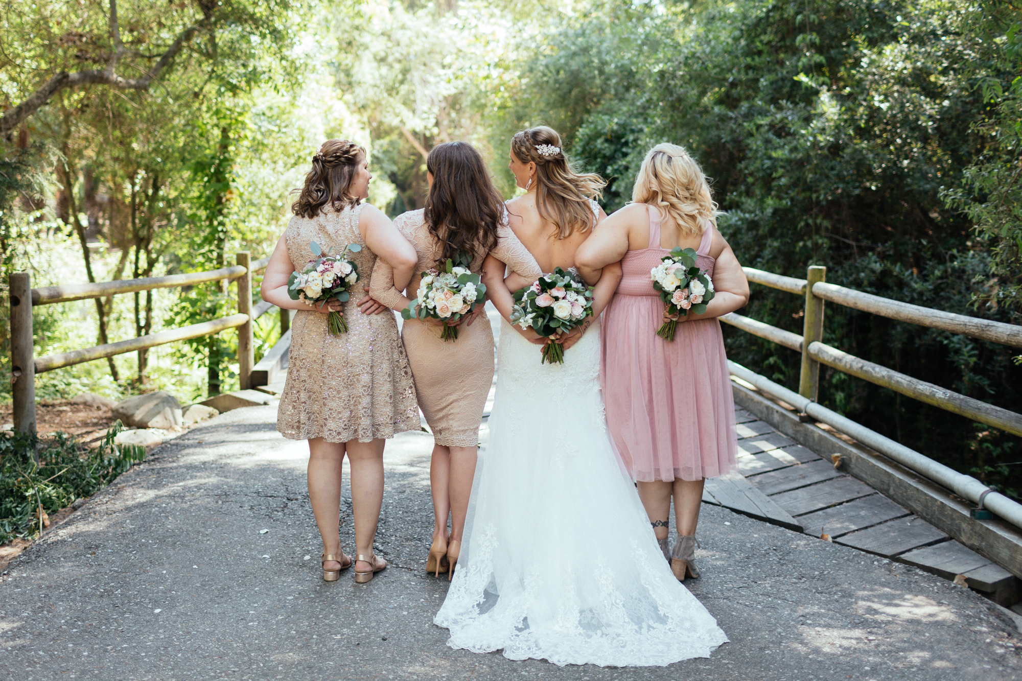 www.santabarbarawedding.com | Kaitie Brainerd Photo | Rancho Dos Pueblos | Bridesmaids
