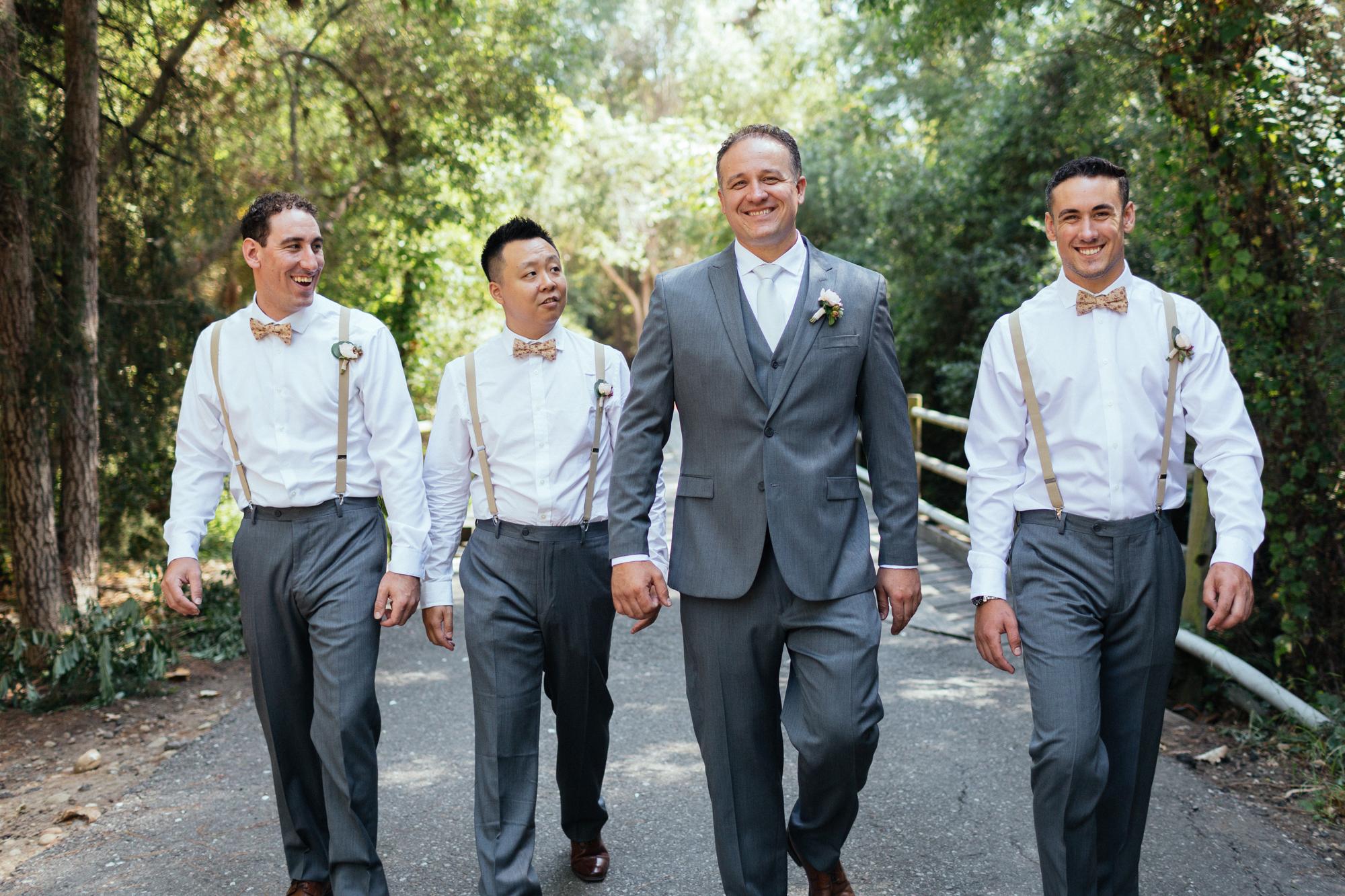 www.santabarbarawedding.com | Kaitie Brainerd Photo | Rancho Dos Pueblos | Groomsmen