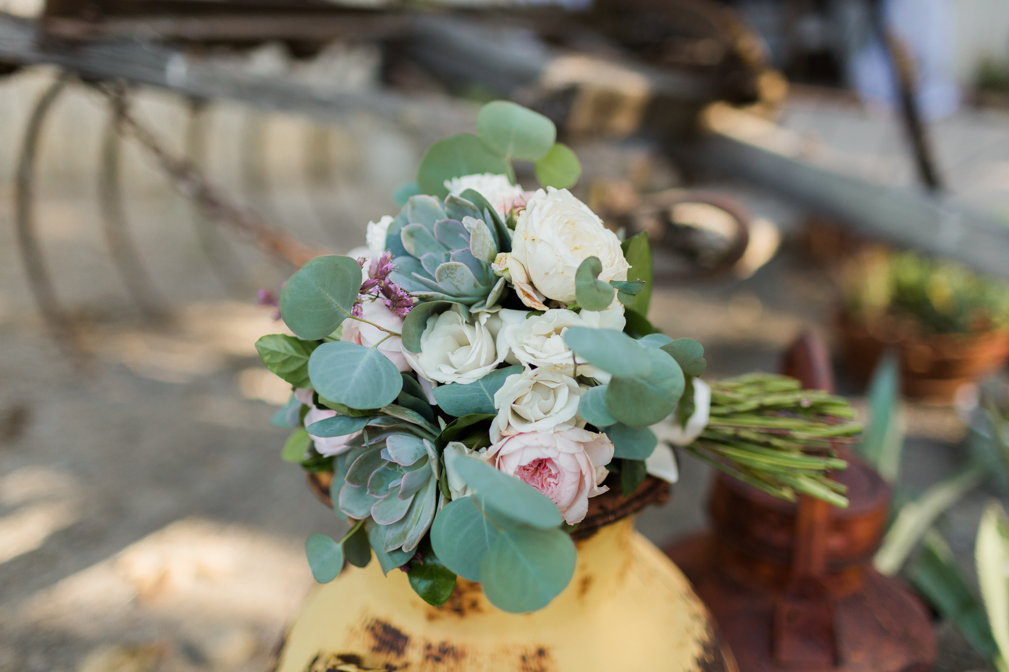 www.santabarbarawedding.com | Kaitie Brainerd Photo | Rancho Dos Pueblos | Bridal Bouquet